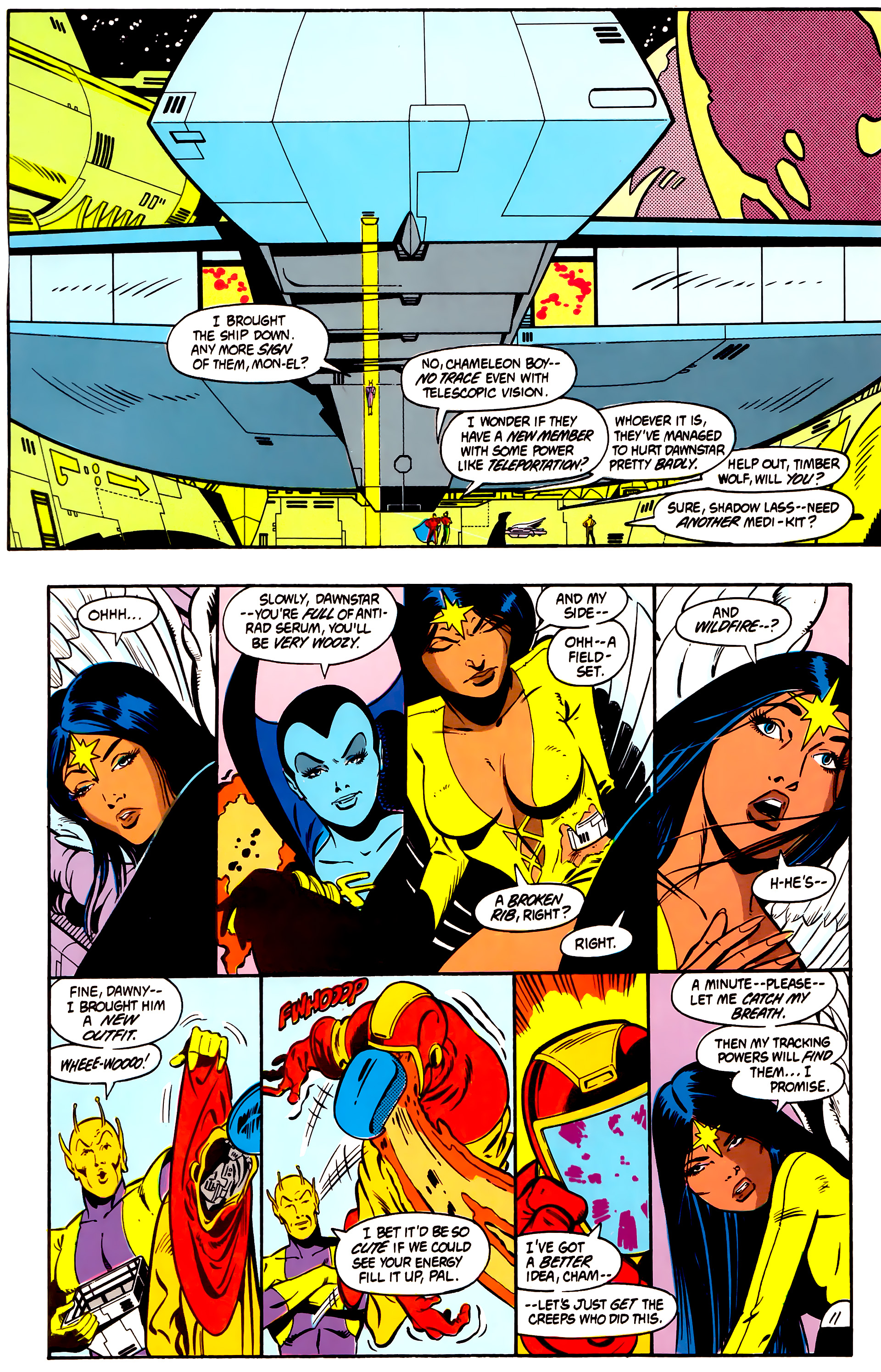 Legion of Super-Heroes (1984) 2 Page 12