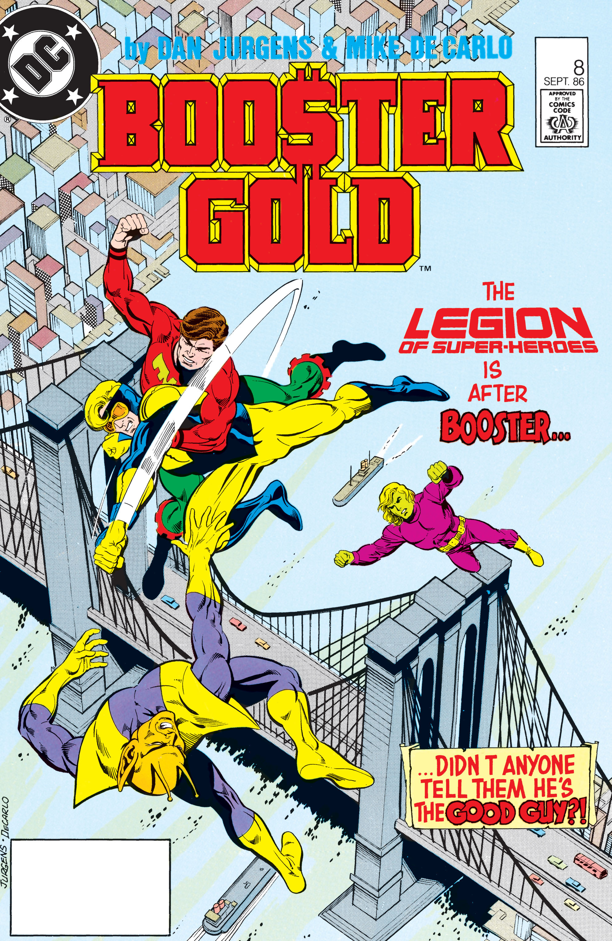 Booster Gold 1986 Issue 8