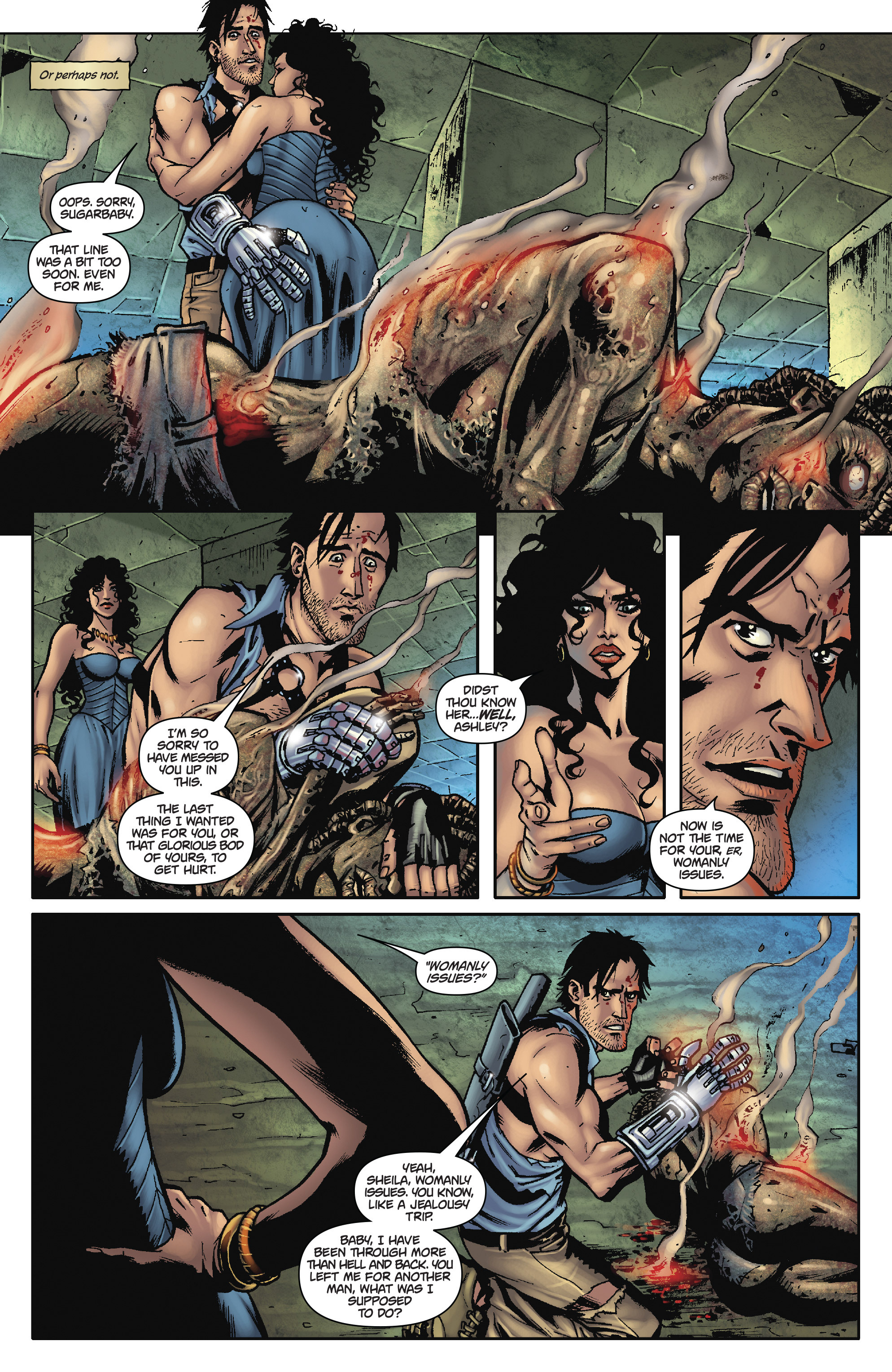 Read online Army of Darkness: The Long Road Home comic -  Issue #Army of Darkness: The Long Road Home TPB - 11