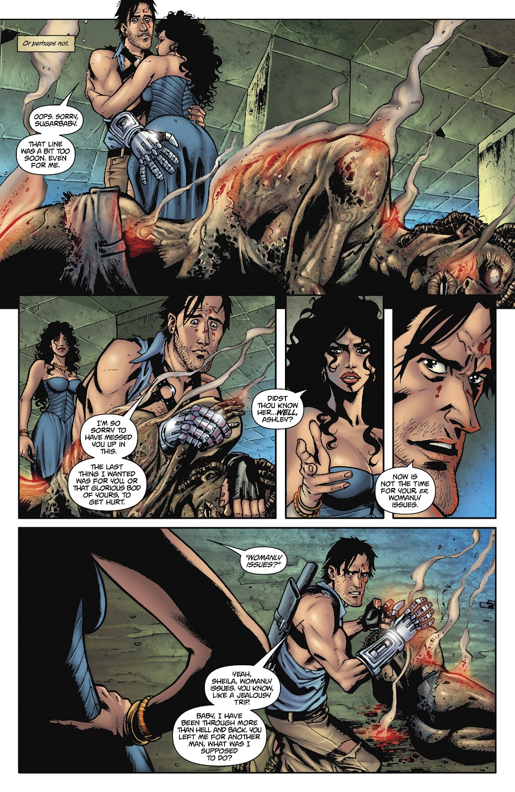 Army of Darkness: The Long Road Home issue TPB - Page 11