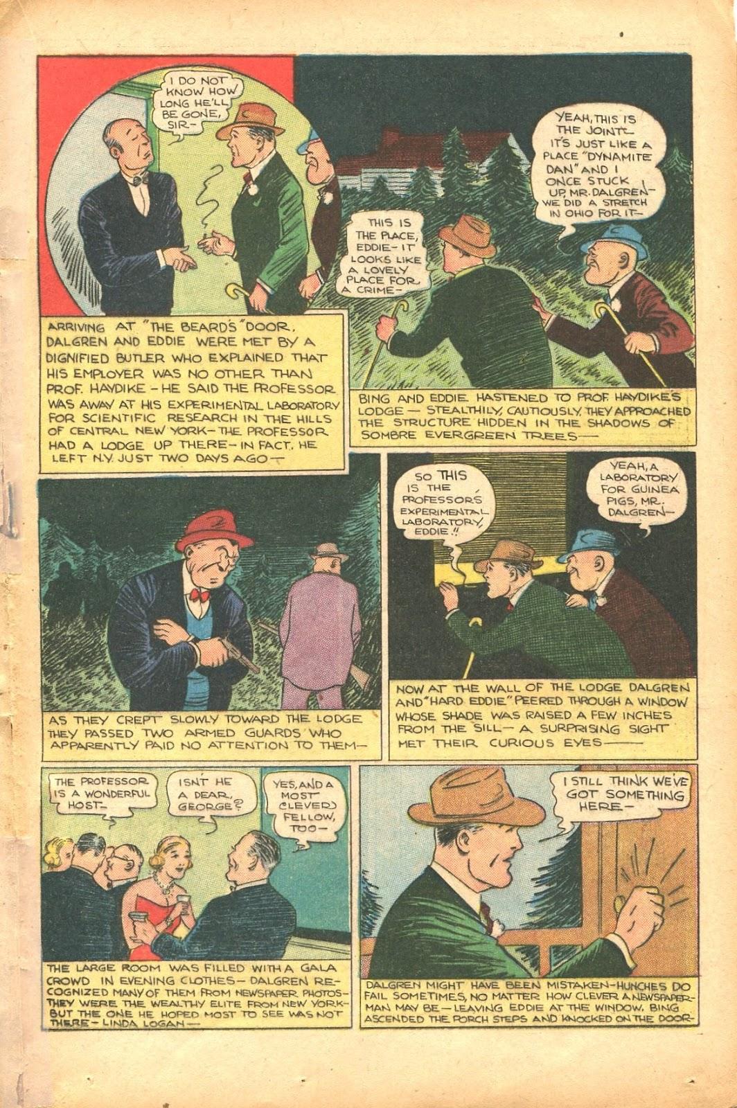 Read online Super-Magician Comics comic -  Issue #35 - 35