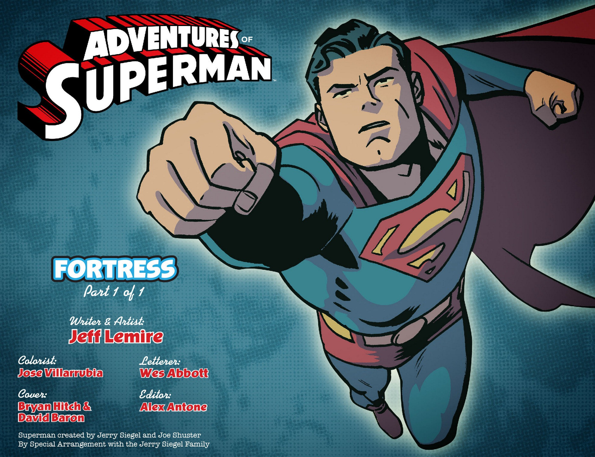 Read online Adventures of Superman [I] comic -  Issue #2 - 2