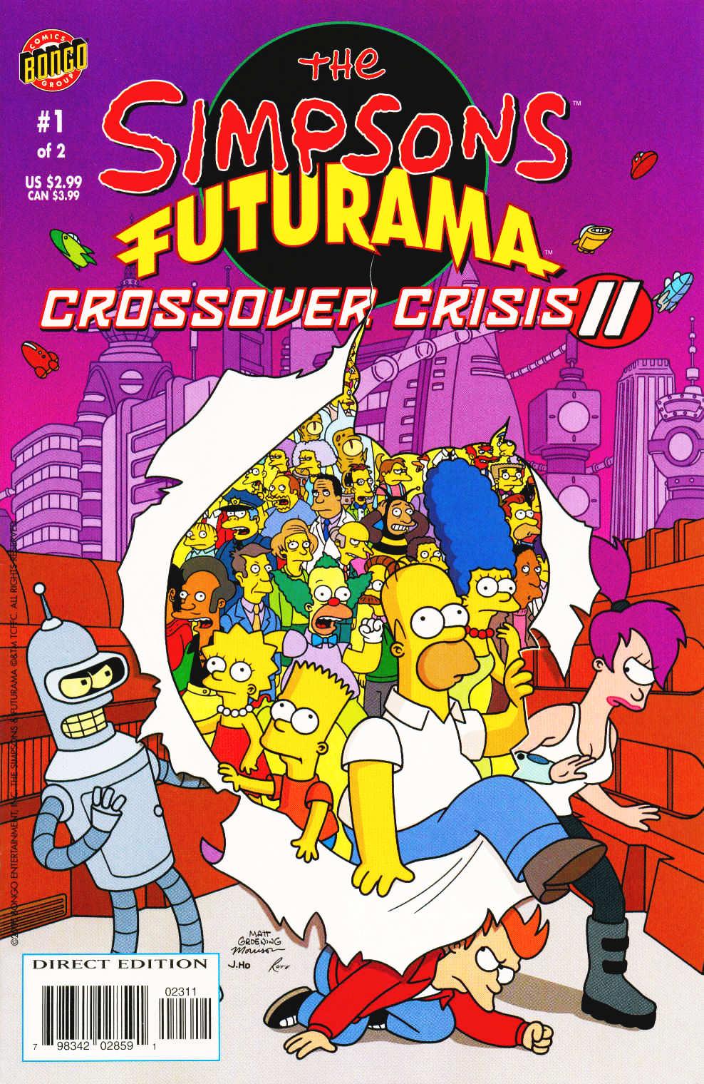 Futurama Comics issue 19b - Page 1