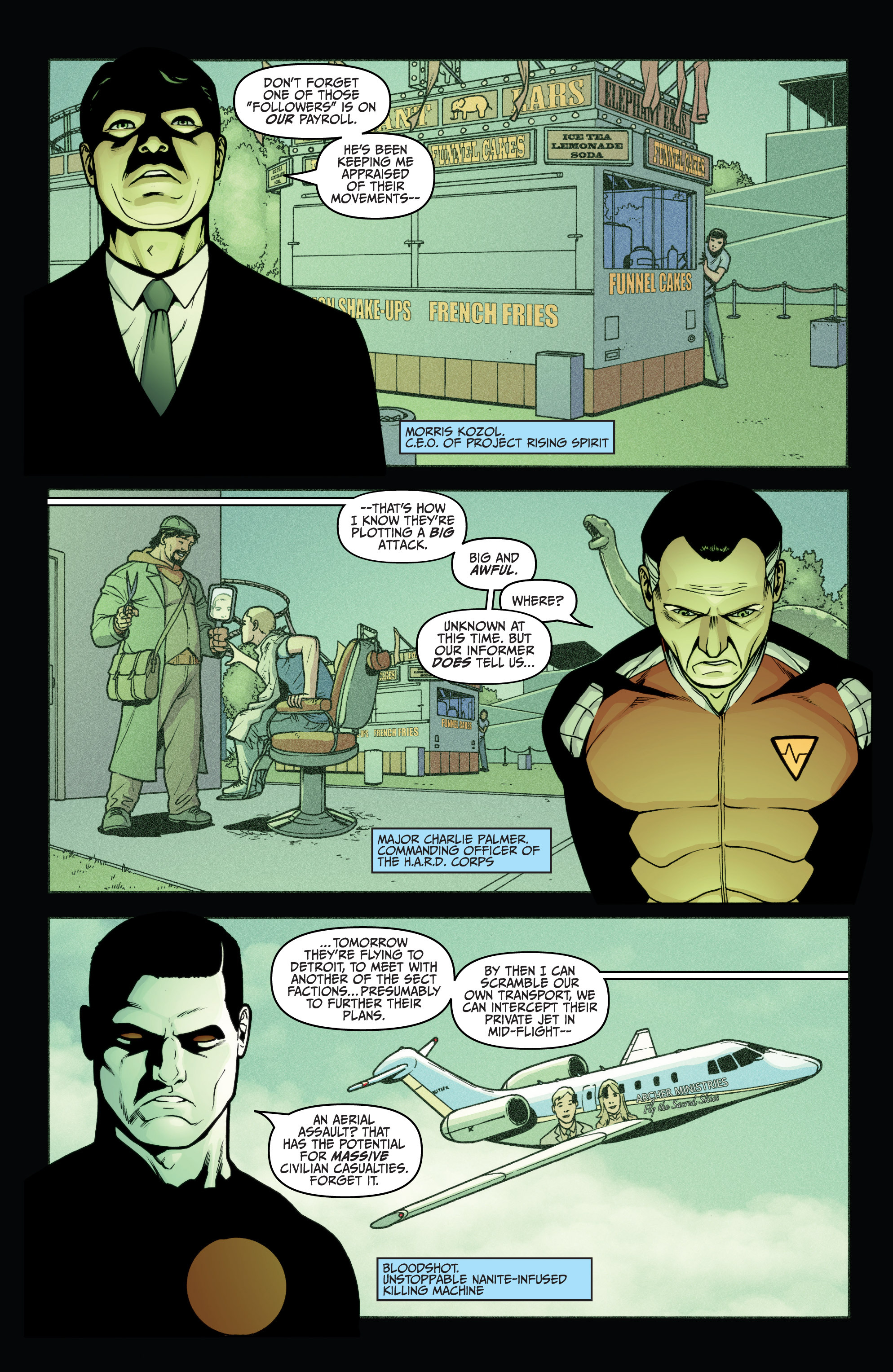 Read online Archer and Armstrong comic -  Issue #Archer and Armstrong _TPB 5 - 35