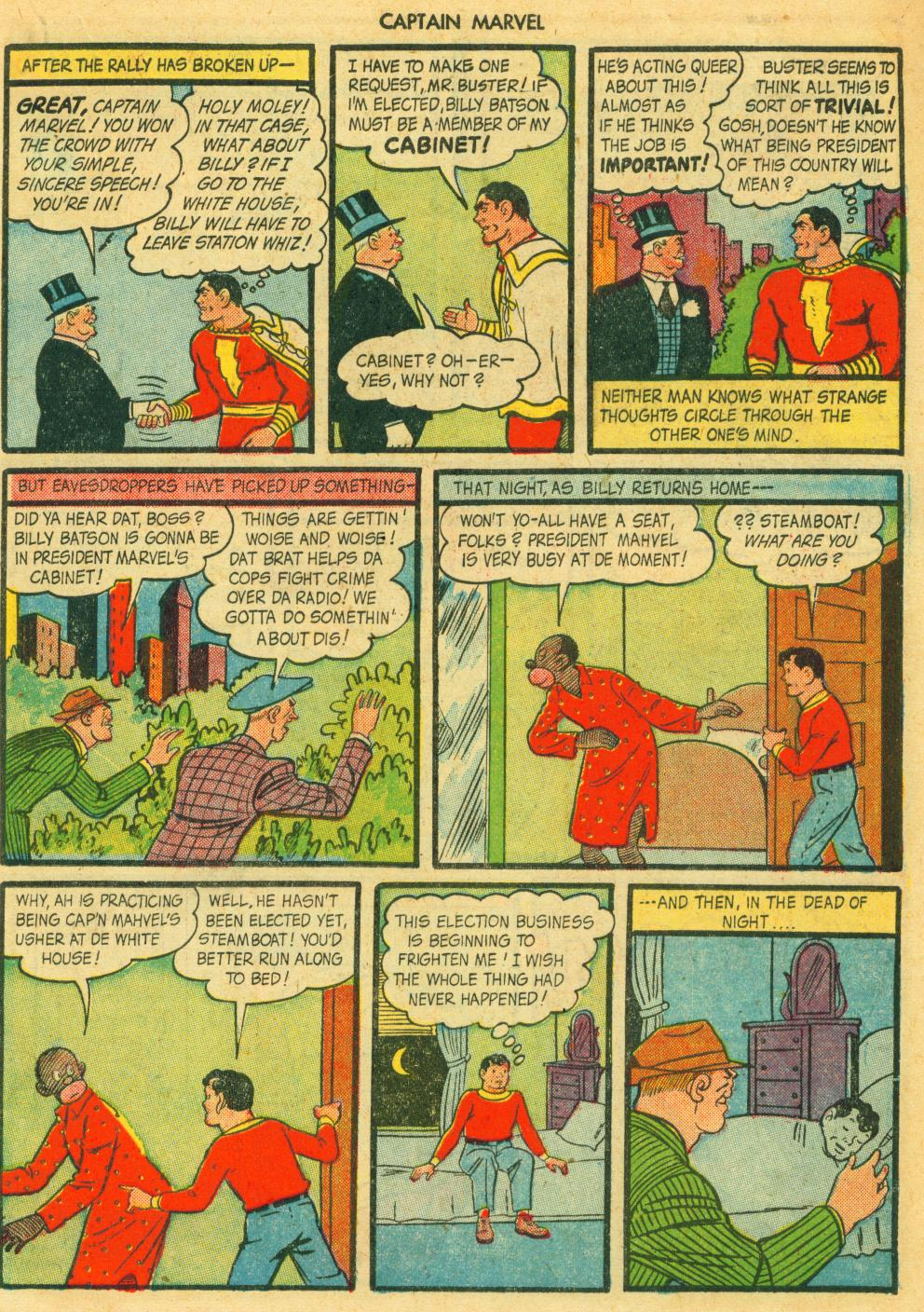 Captain Marvel Adventures issue 41 - Page 35