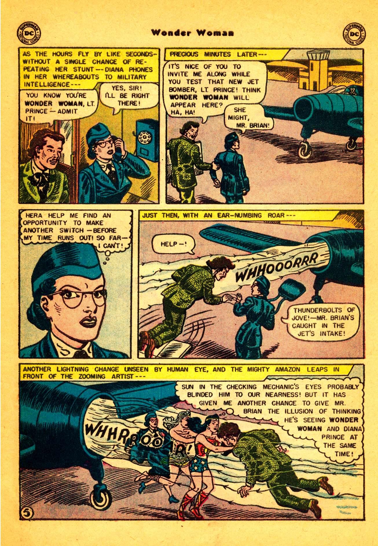 Read online Wonder Woman (1942) comic -  Issue #86 - 6