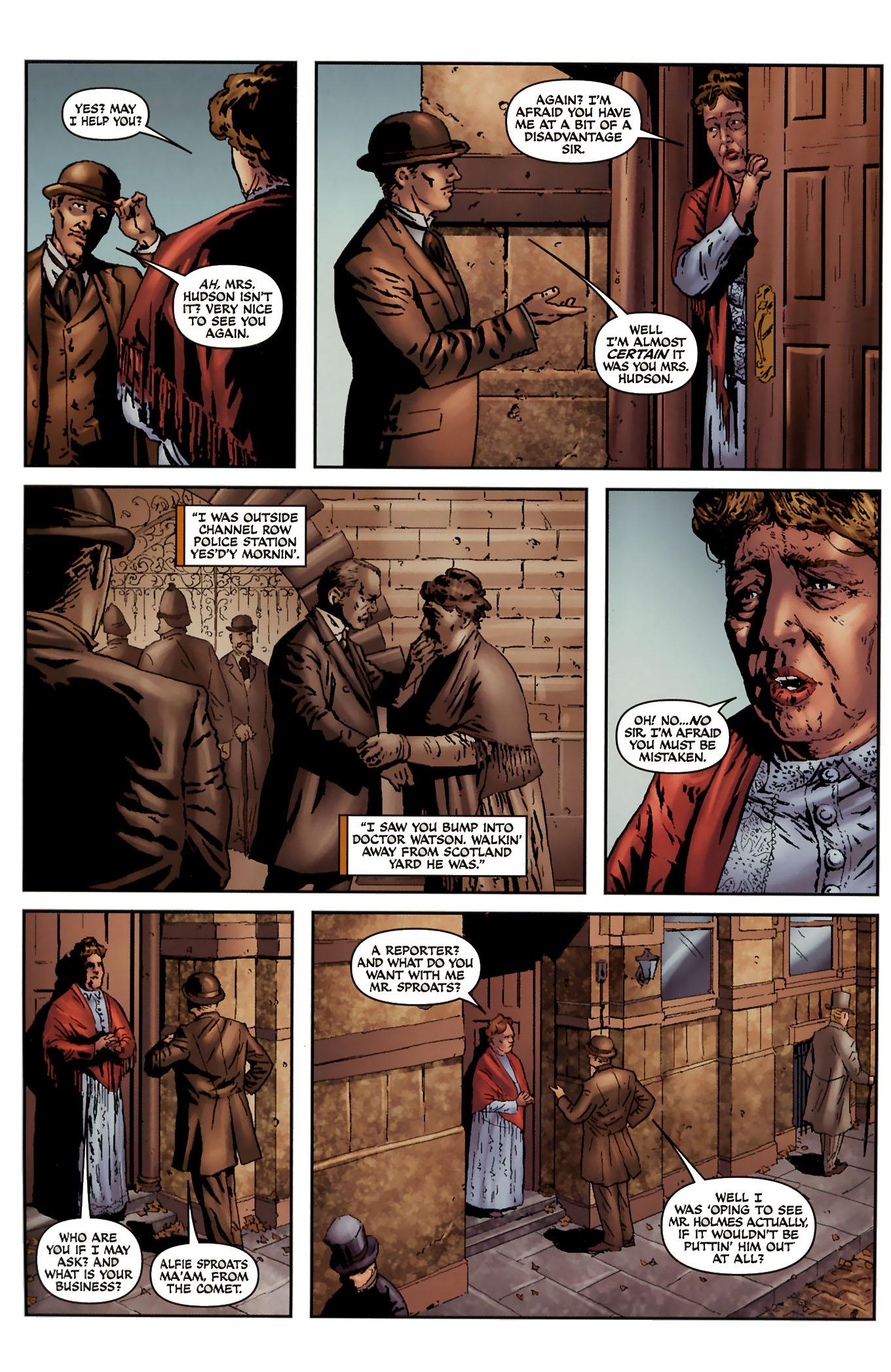 Read online Sherlock Holmes (2009) comic -  Issue #3 - 12