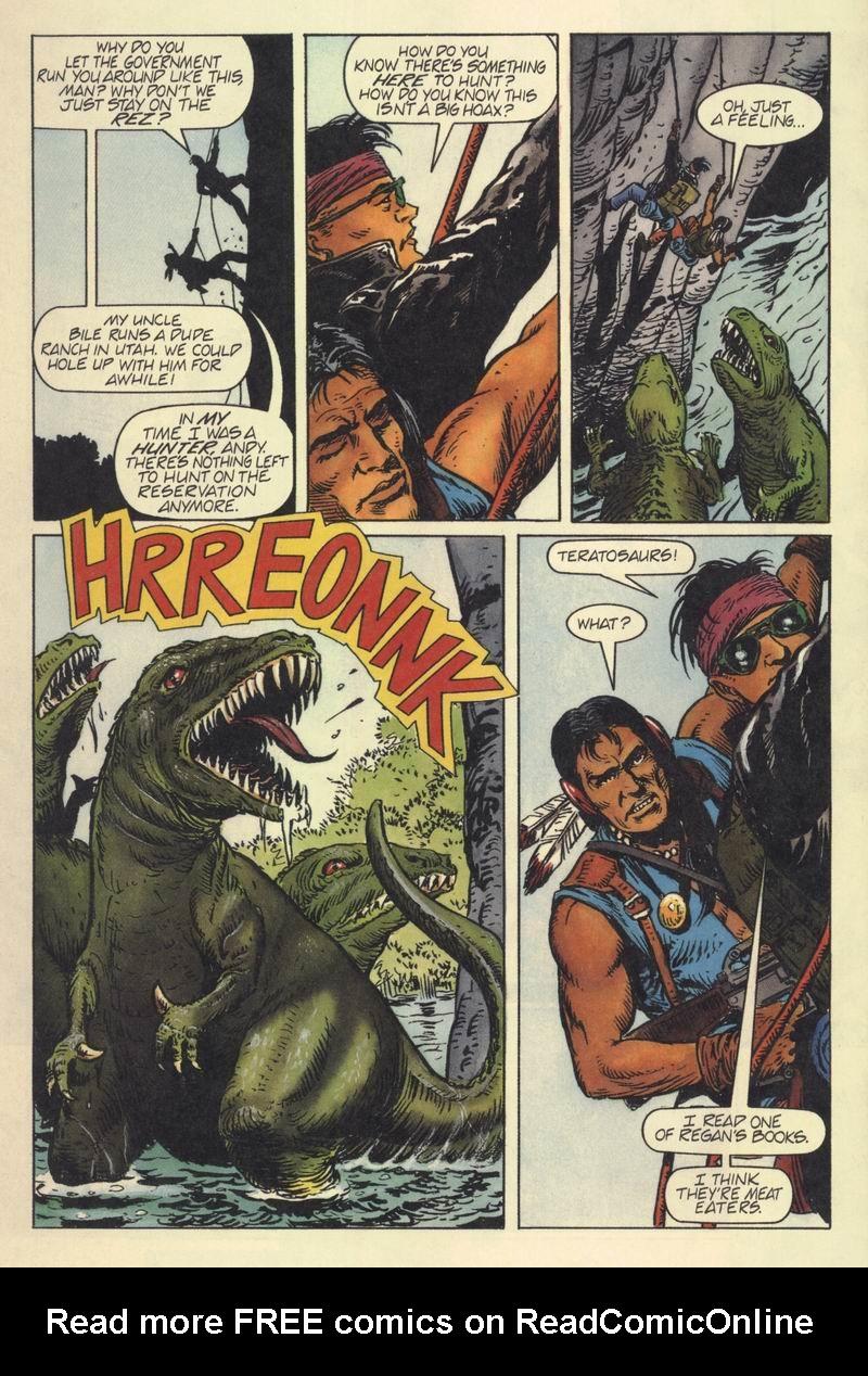 Read online Turok, Dinosaur Hunter (1993) comic -  Issue #7 - 19