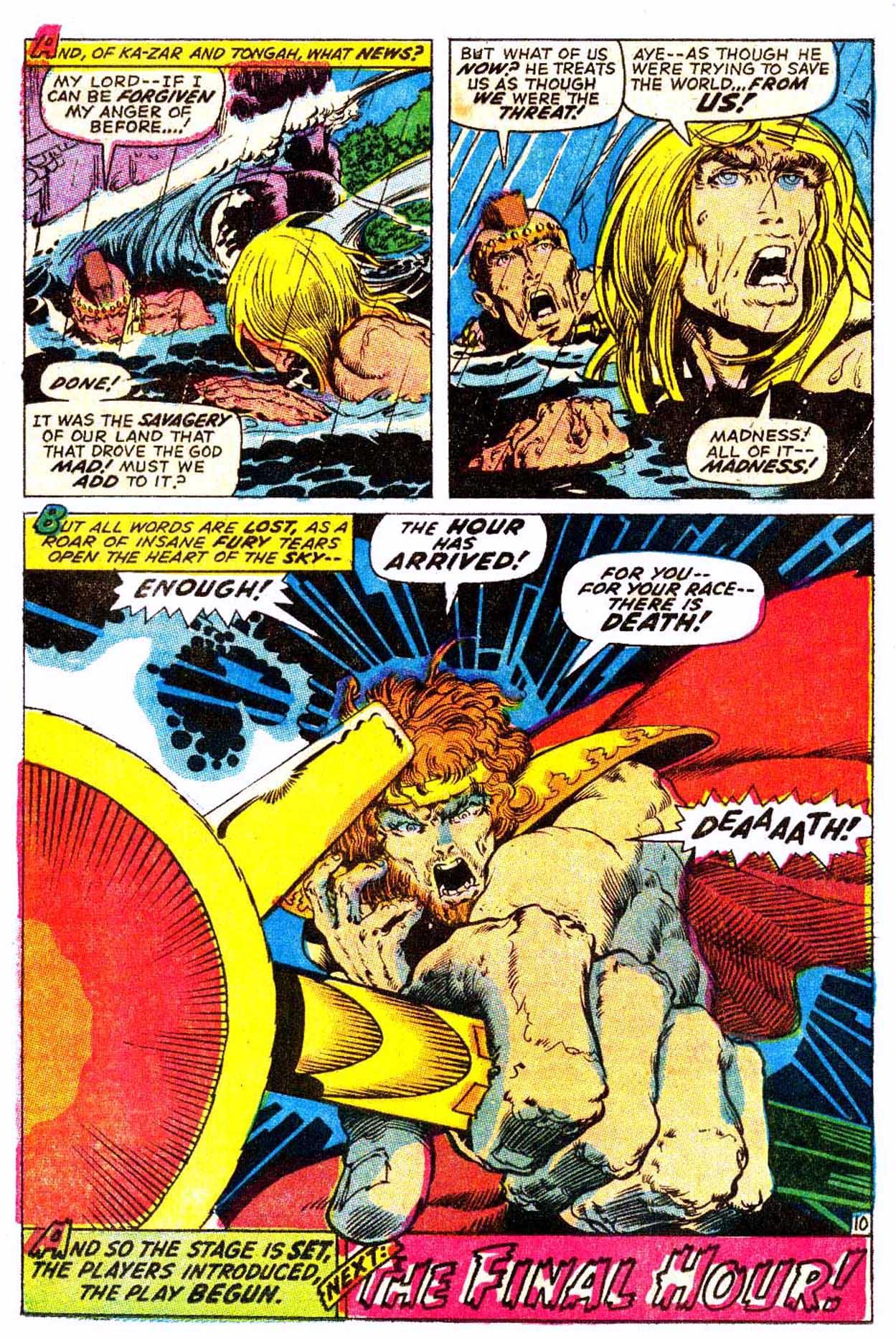 Read online Astonishing Tales (1970) comic -  Issue #6 - 21