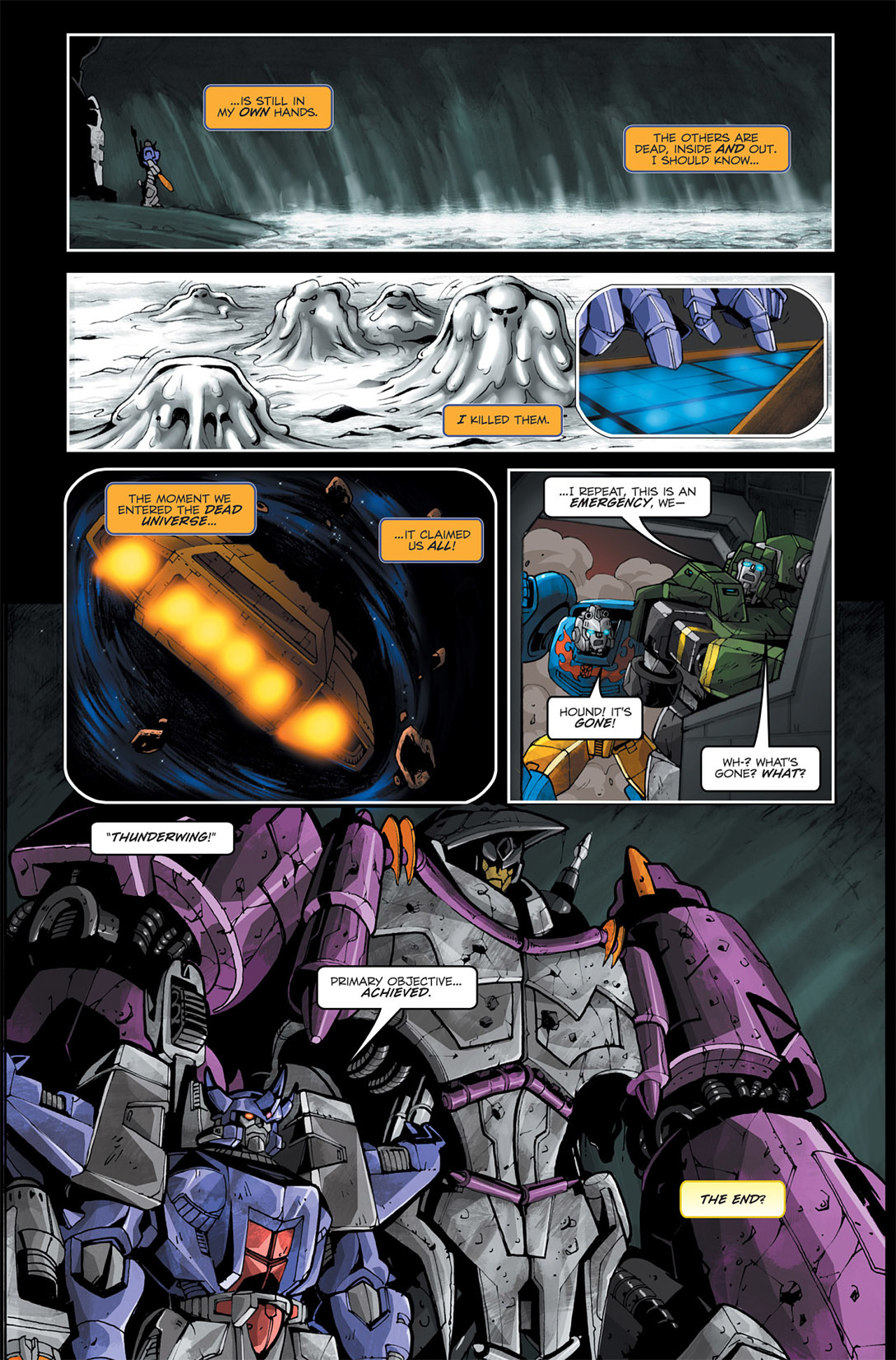 Read online Transformers Spotlight: Galvatron comic -  Issue # Full - 24