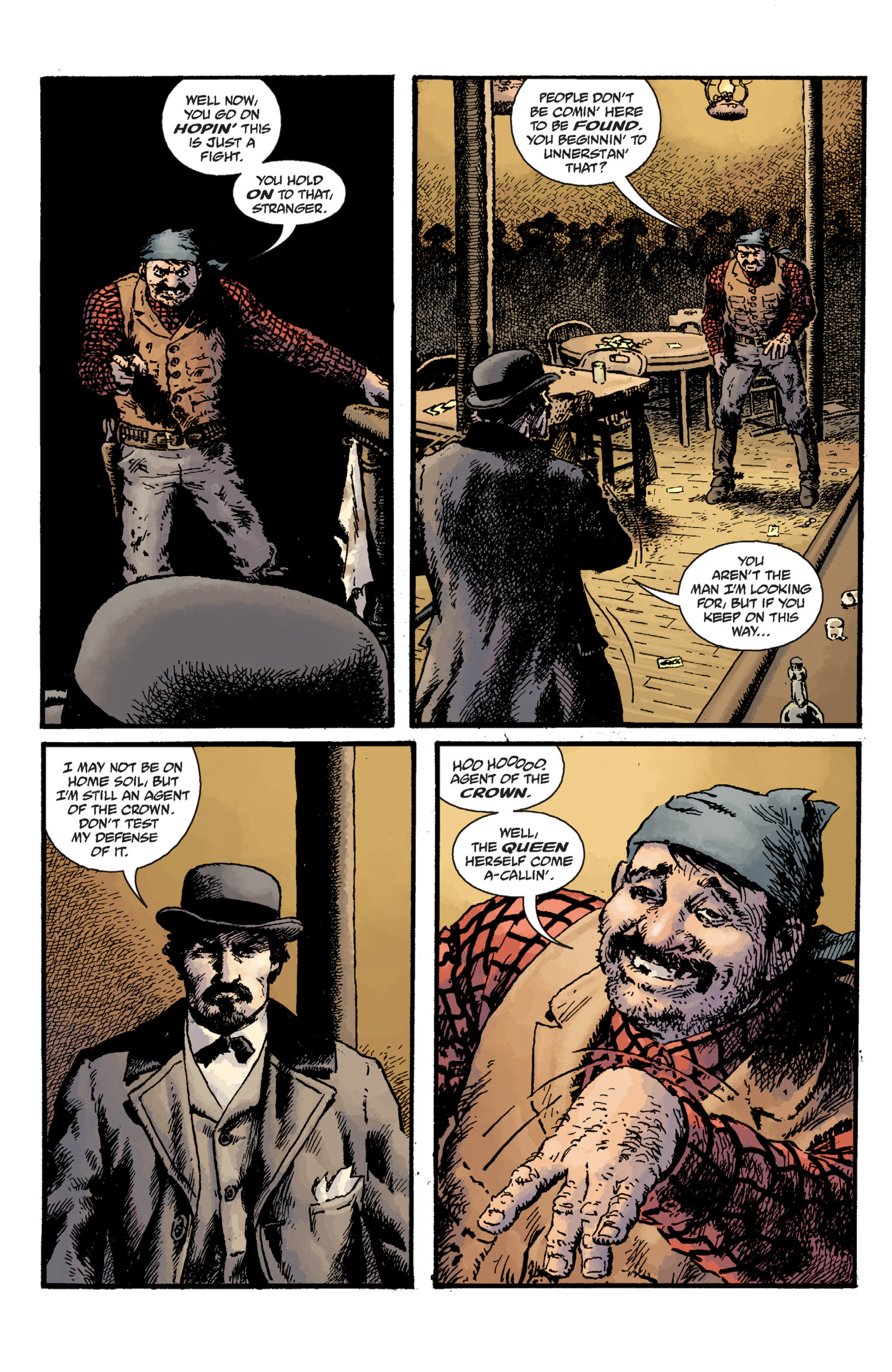 Read online Sir Edward Grey, Witchfinder: Lost and Gone Forever comic -  Issue # TPB - 17