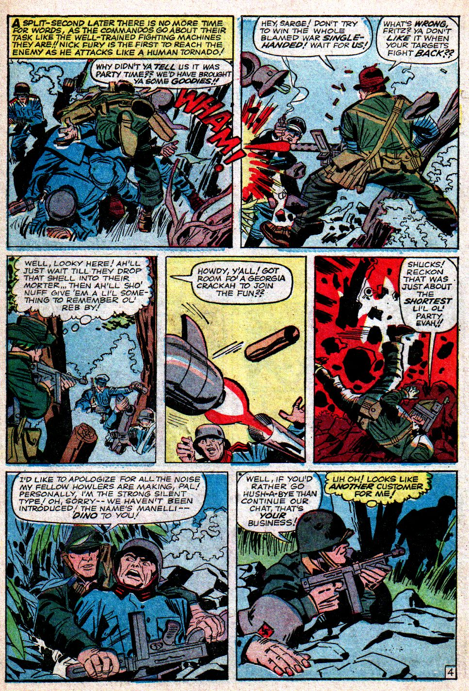 Read online Sgt. Fury comic -  Issue #7 - 6
