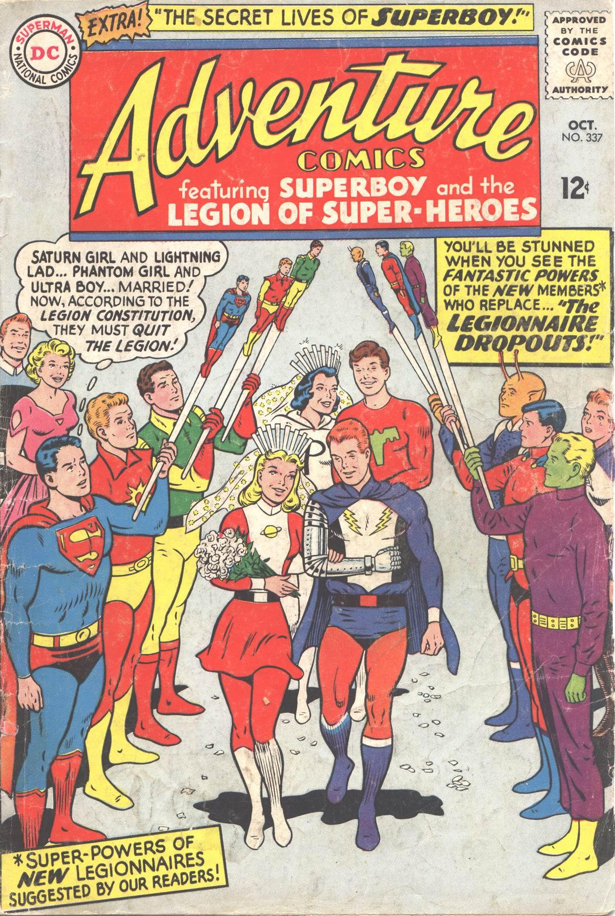 Read online Adventure Comics (1938) comic -  Issue #337 - 1