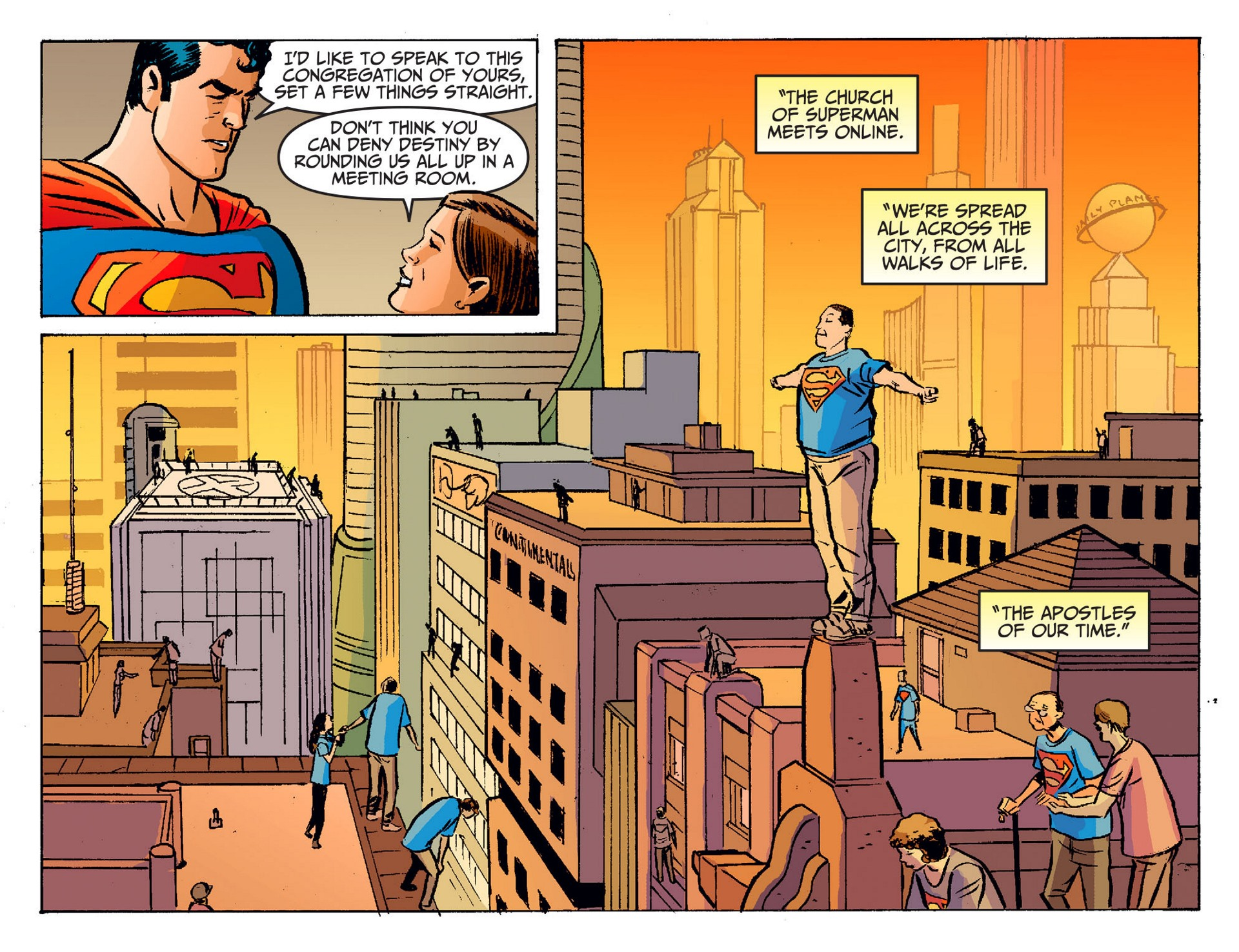 Read online Adventures of Superman [I] comic -  Issue #19 - 21