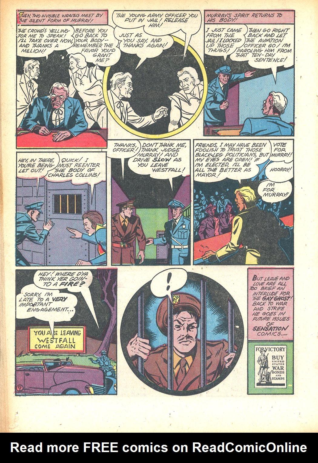 Read online Sensation (Mystery) Comics comic -  Issue #13 - 34