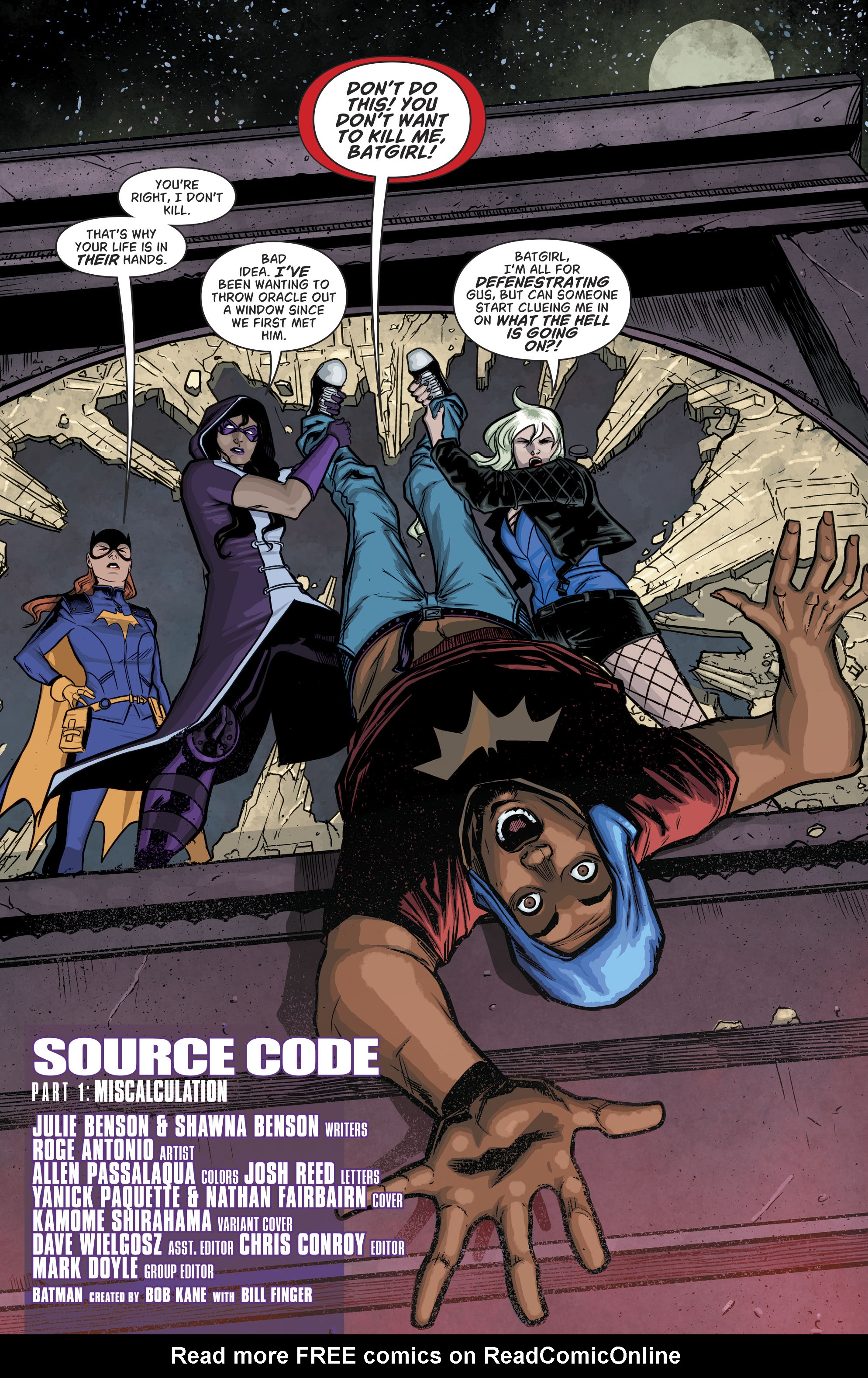 Read online Batgirl and the Birds of Prey comic -  Issue #11 - 4