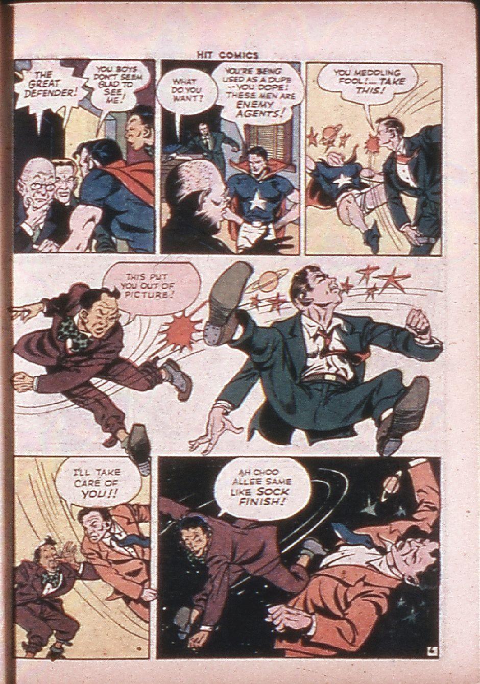 Read online Hit Comics comic -  Issue #33 - 42