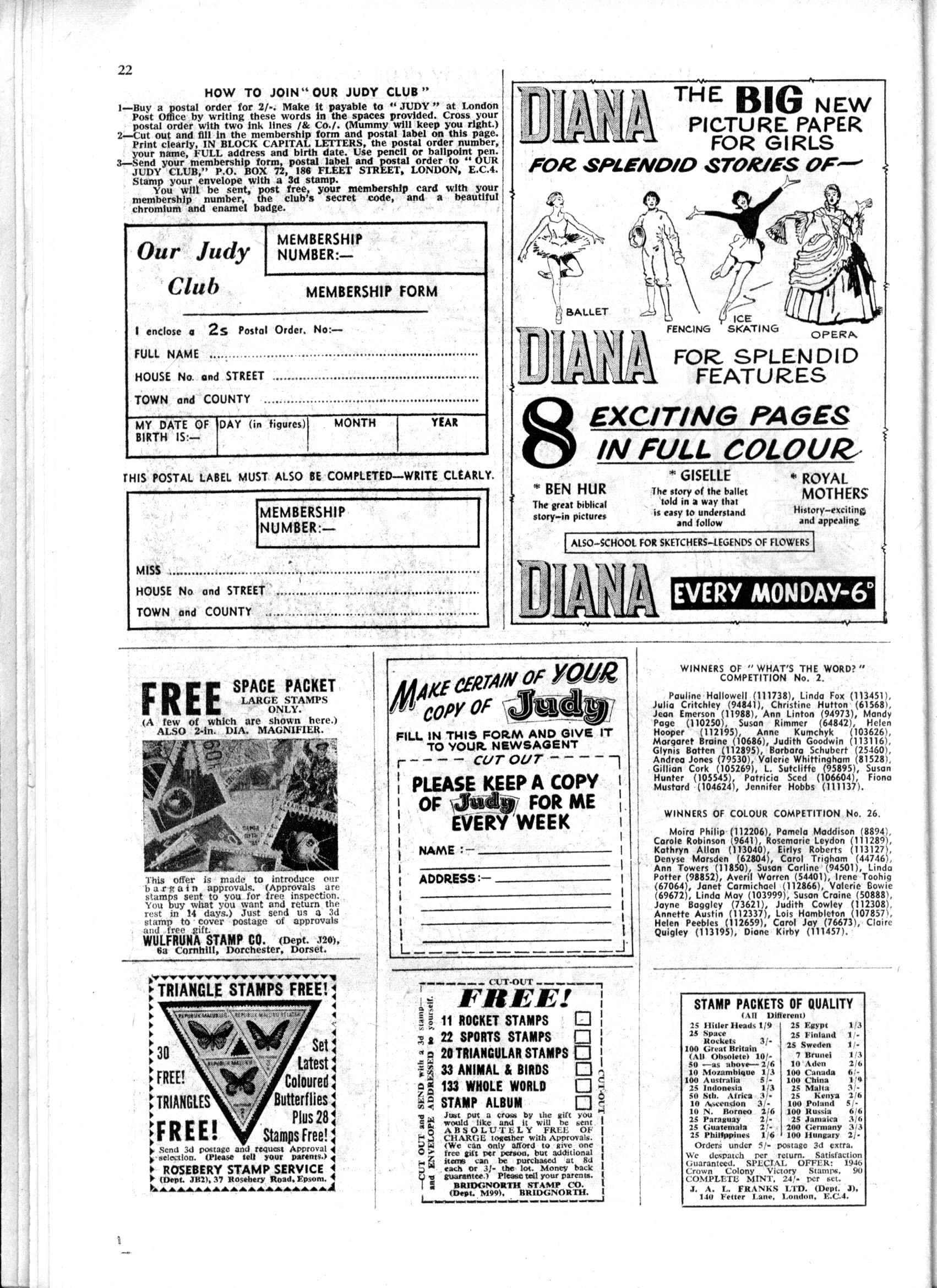 Read online Judy comic -  Issue #165 - 22