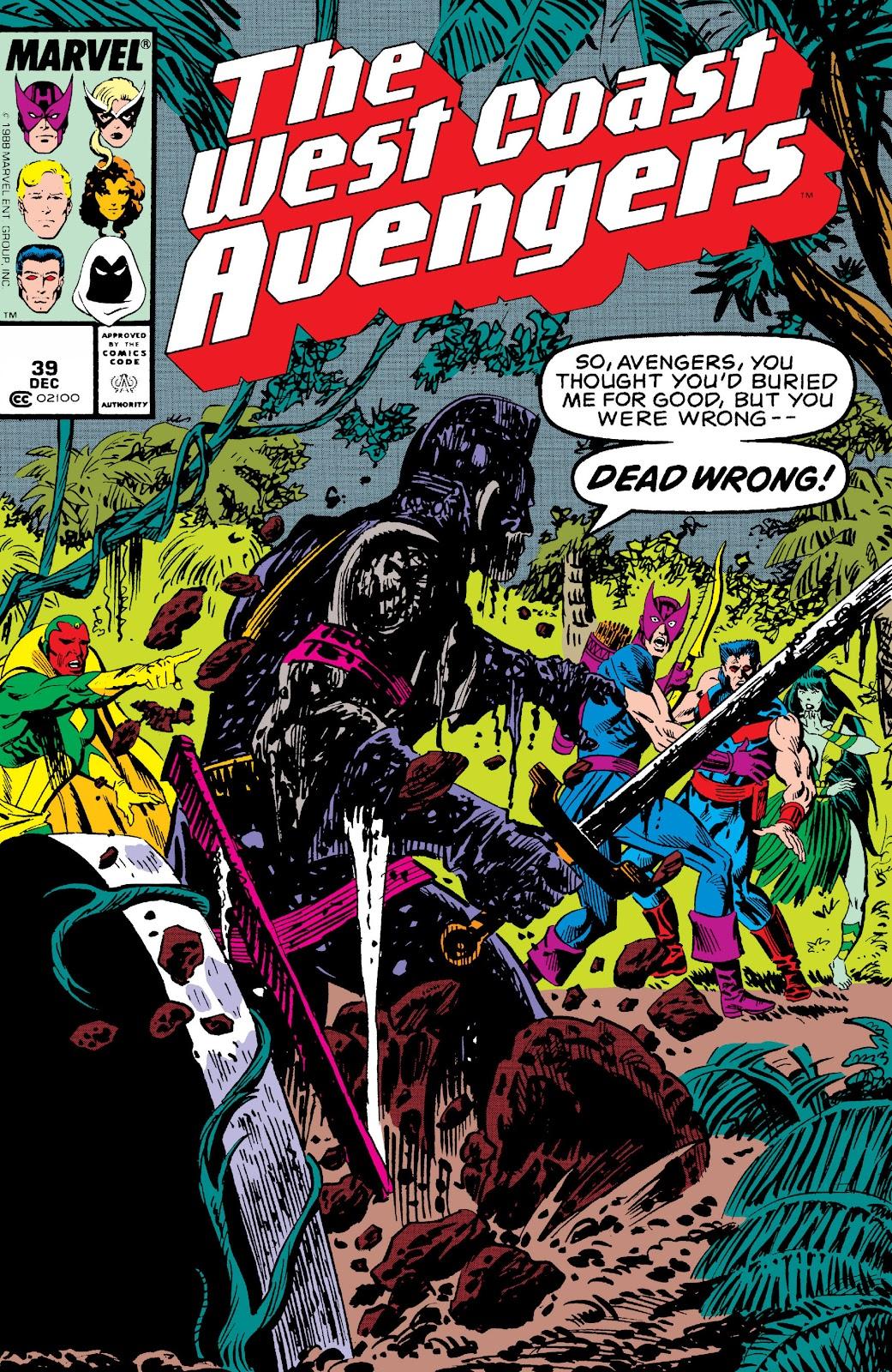 West Coast Avengers (1985) 39 Page 1