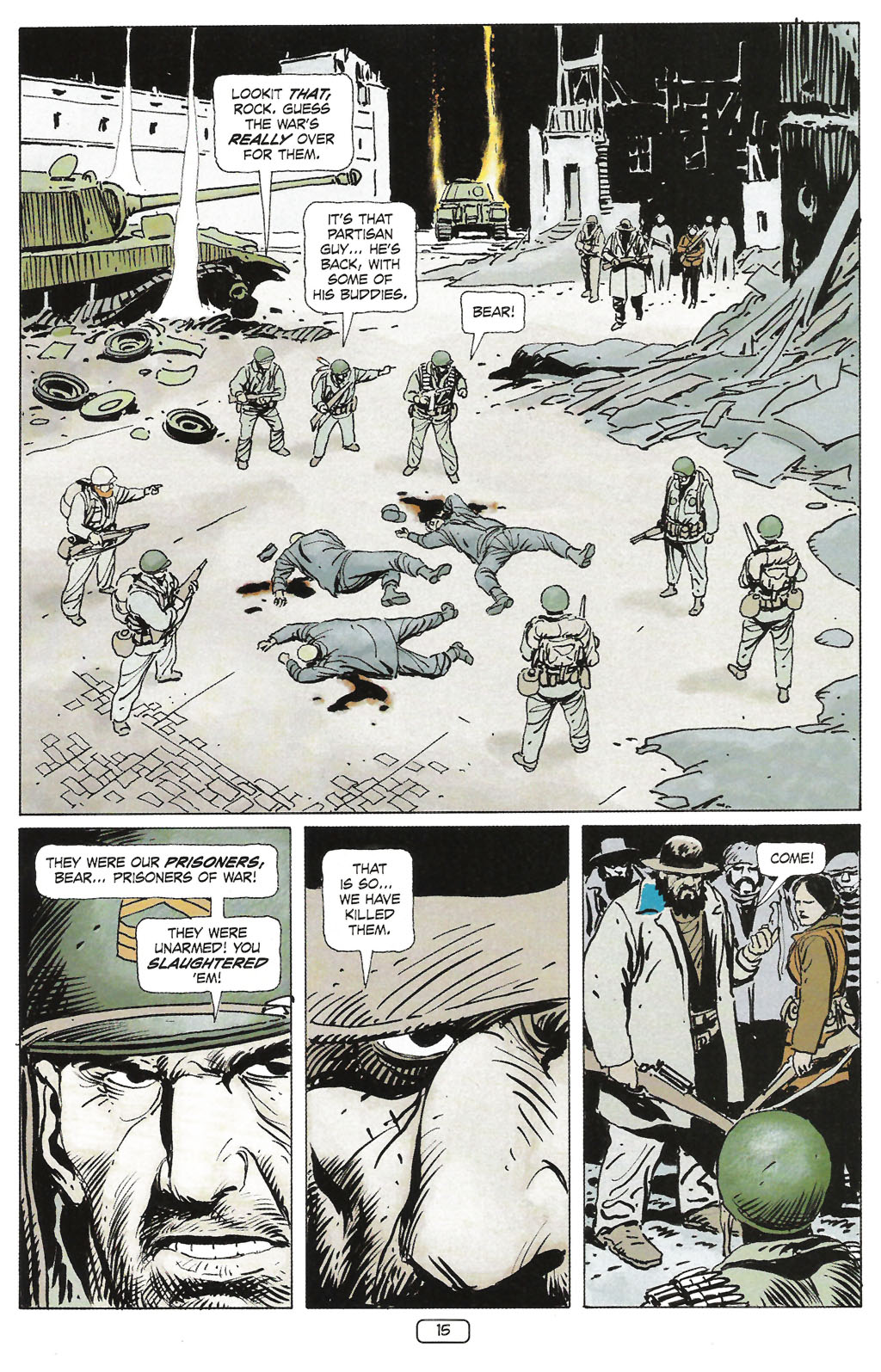 Read online Sgt. Rock: The Prophecy comic -  Issue #1 - 17