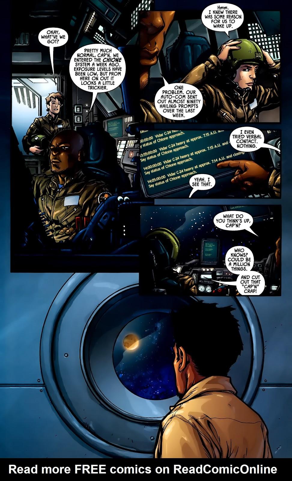 Read online Aliens (2009) comic -  Issue #1 - 9