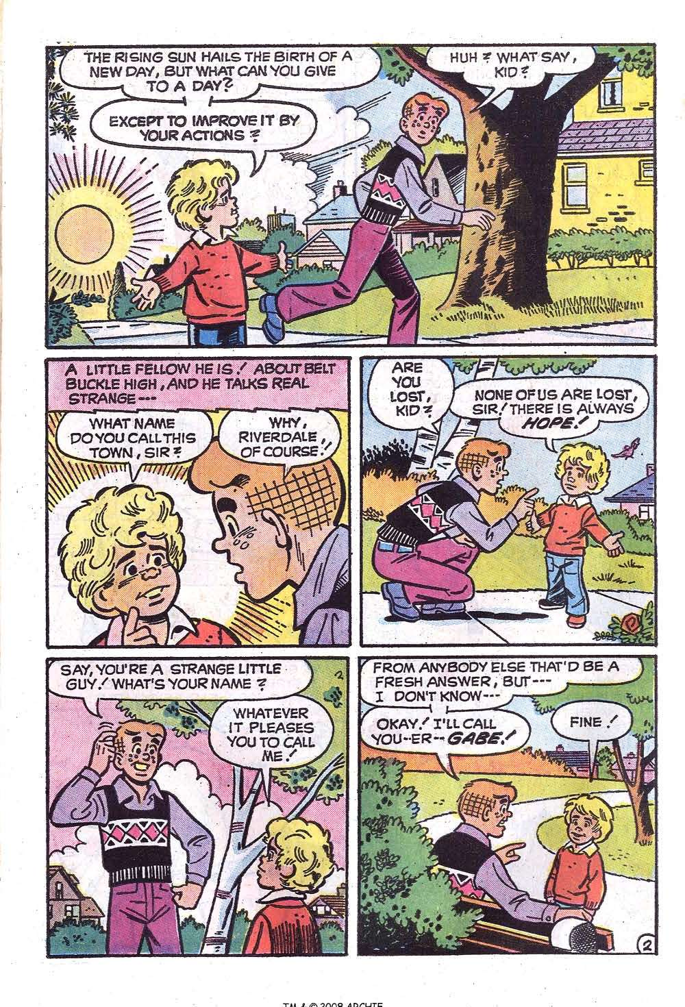 Read online Archie (1960) comic -  Issue #229 - 15