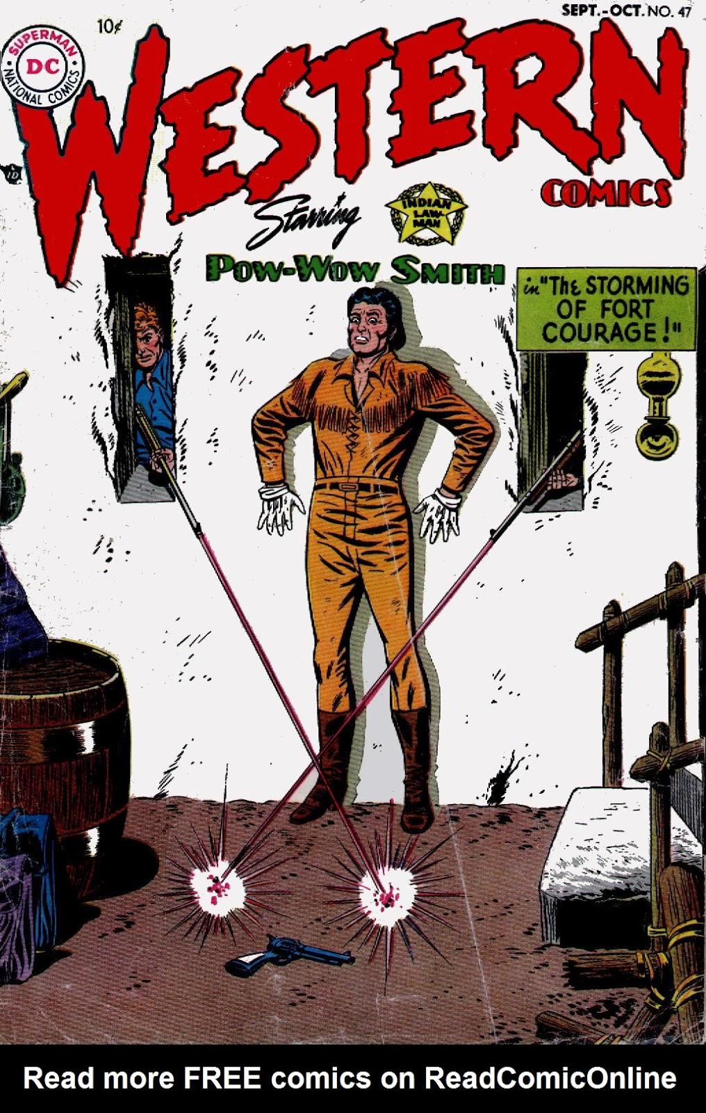 Western Comics 47 Page 1