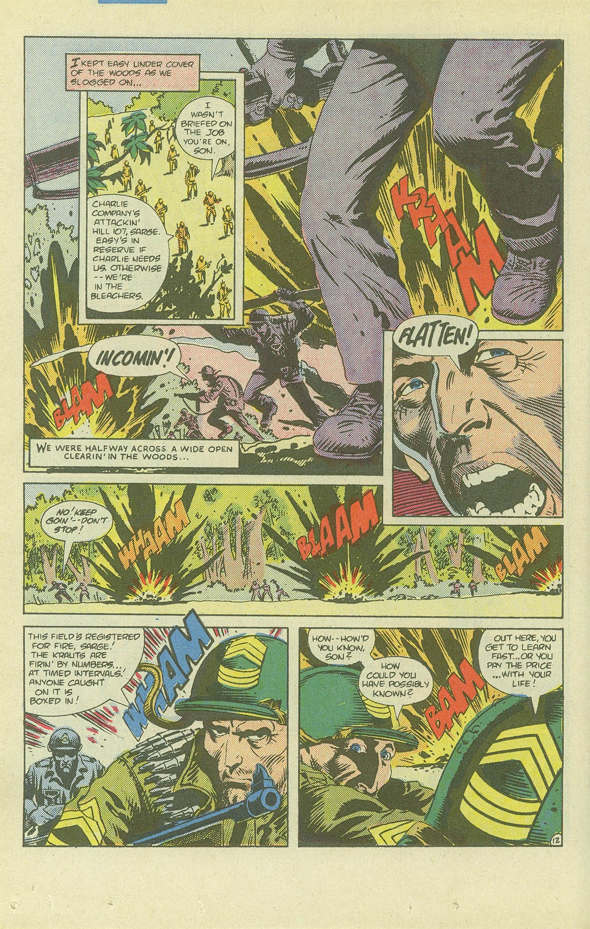 Read online Sgt. Rock comic -  Issue #411 - 17