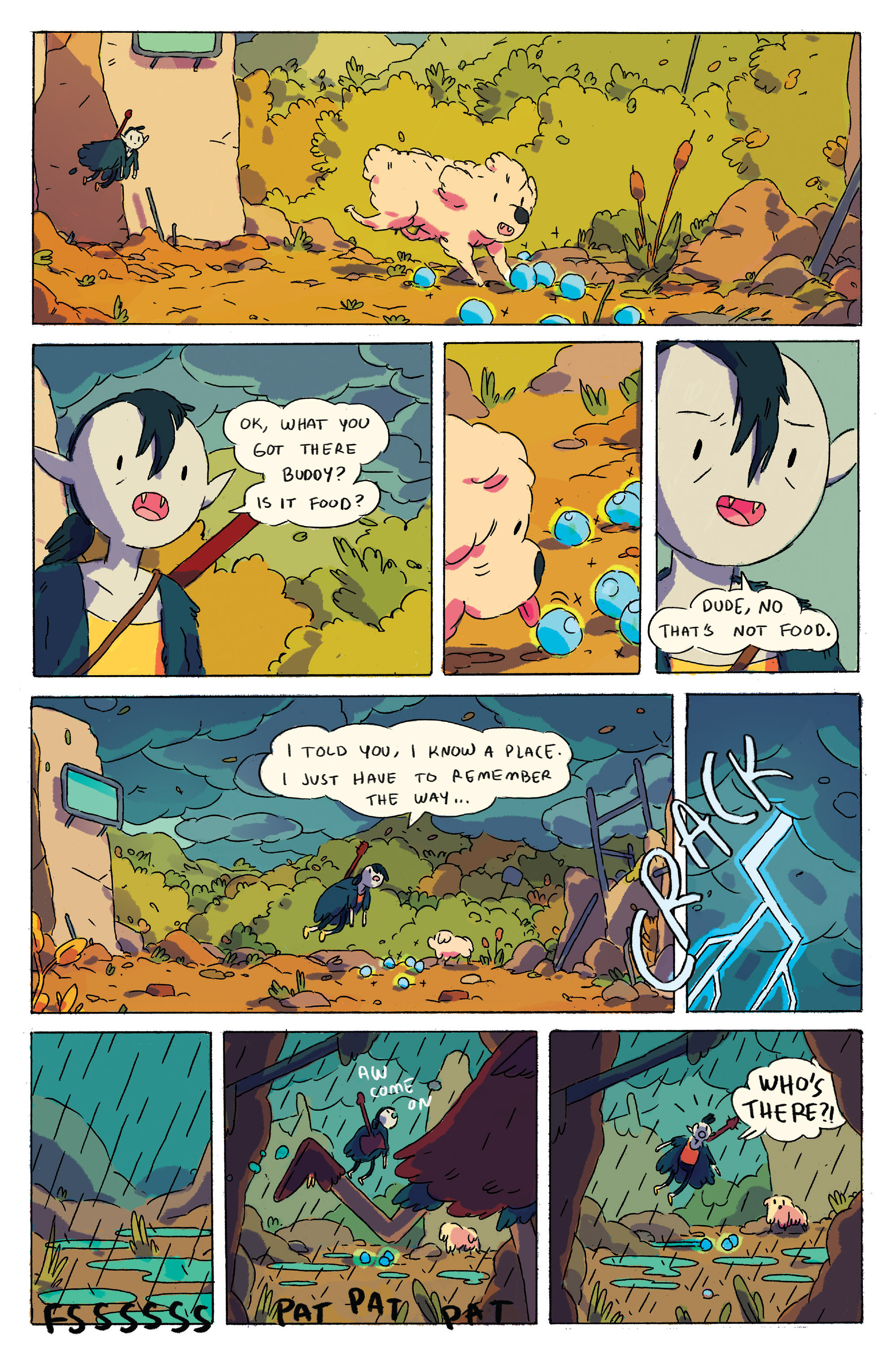Read online Adventure Time comic -  Issue # _2015 Spoooktacular - 5