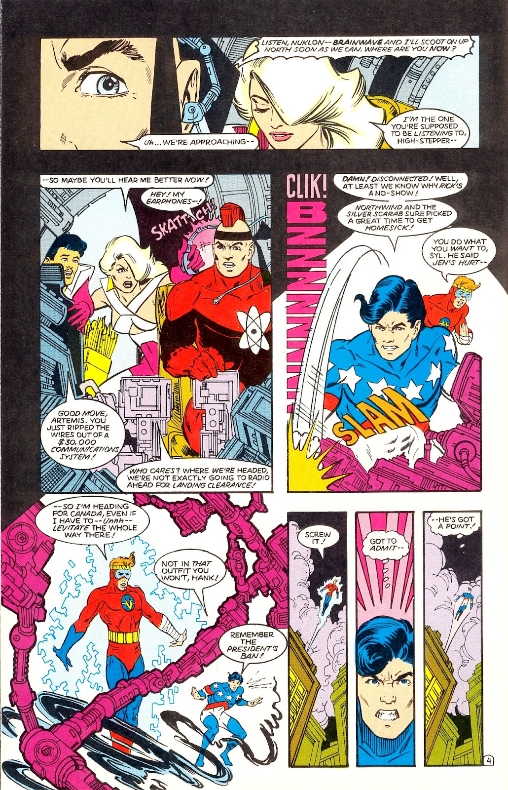 Infinity Inc. (1984) issue 35 - Page 6