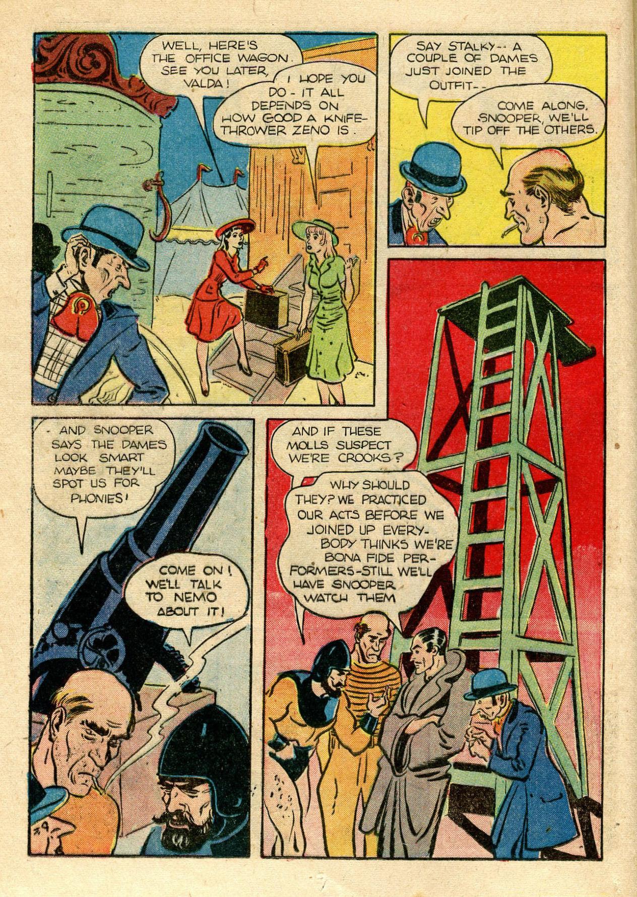 Read online Shadow Comics comic -  Issue #33 - 20