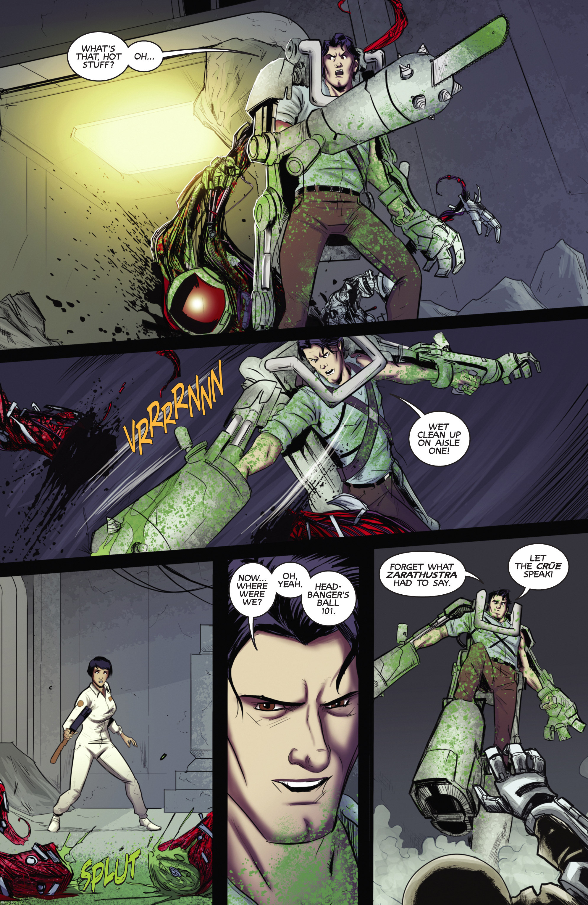 Read online Army of Darkness (2014) comic -  Issue #4 - 8