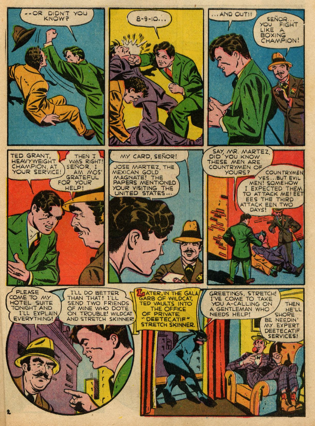 Read online Sensation (Mystery) Comics comic -  Issue #22 - 49