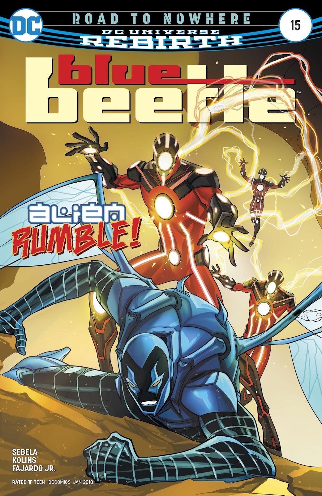 Blue Beetle (2016) 15 Page 1