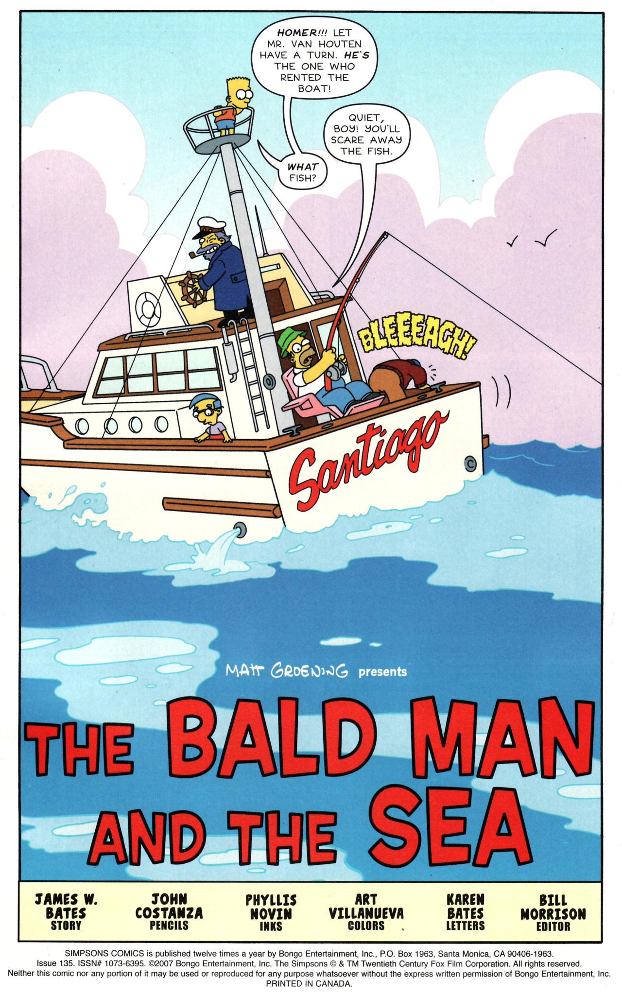 Read online Simpsons Comics comic -  Issue #135 - 2