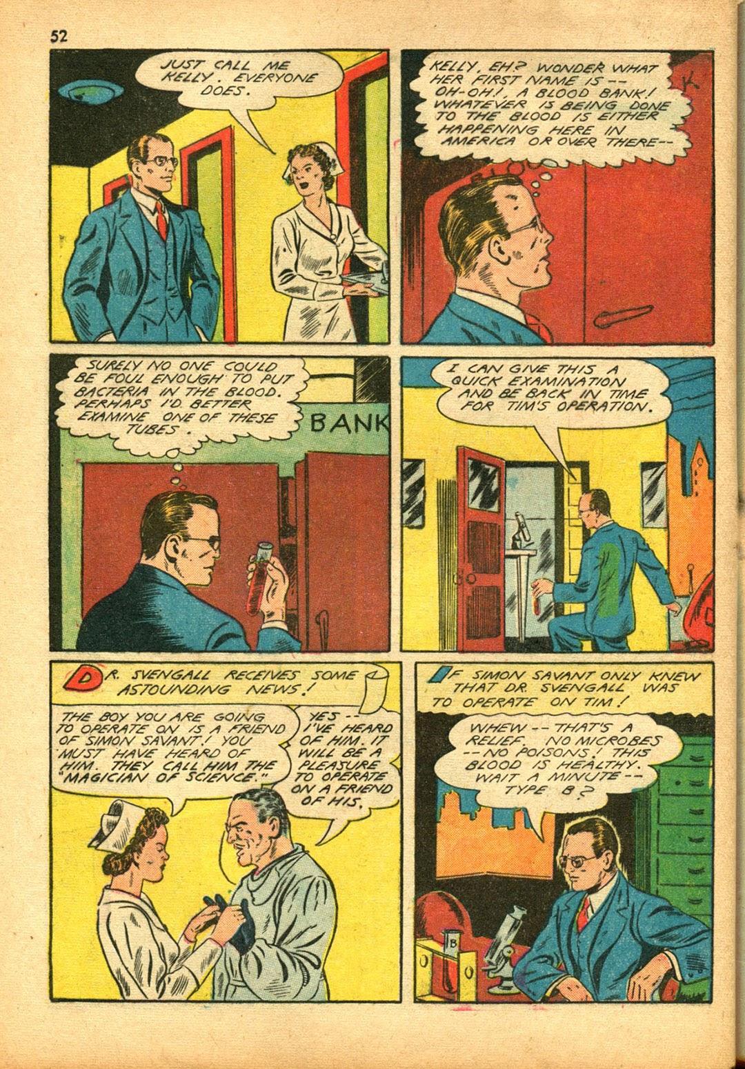 Read online Super-Magician Comics comic -  Issue #15 - 51