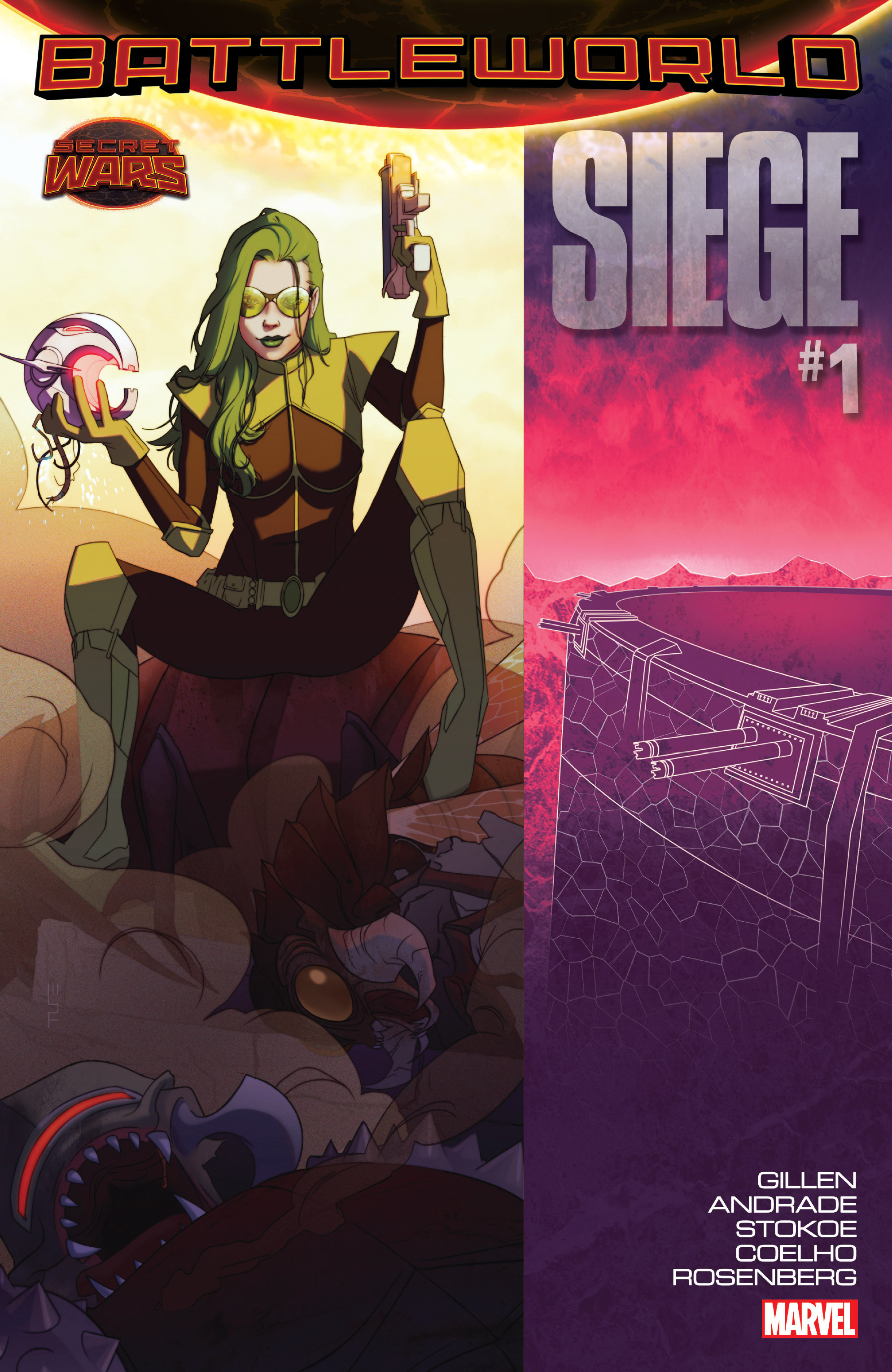Read online Siege (2015) comic -  Issue #1 - 1