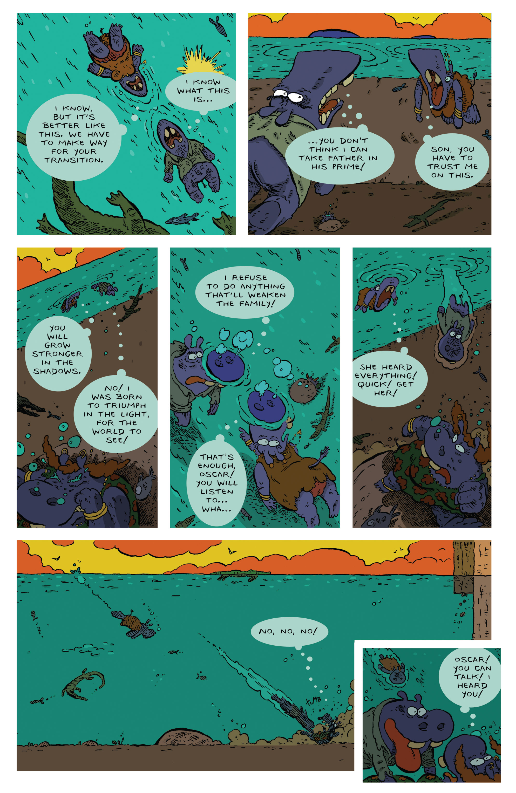 Read online Animal Noir comic -  Issue #4 - 6
