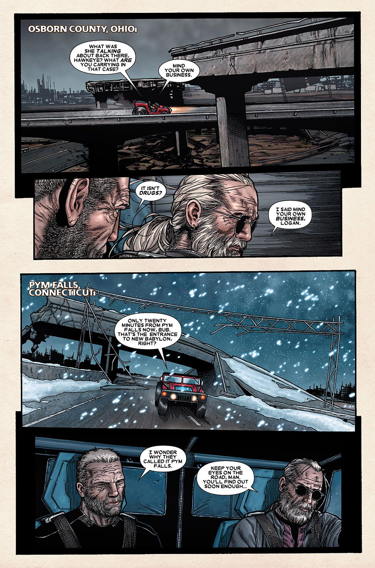 Read online Wolverine: Old Man Logan comic -  Issue # Full - 127