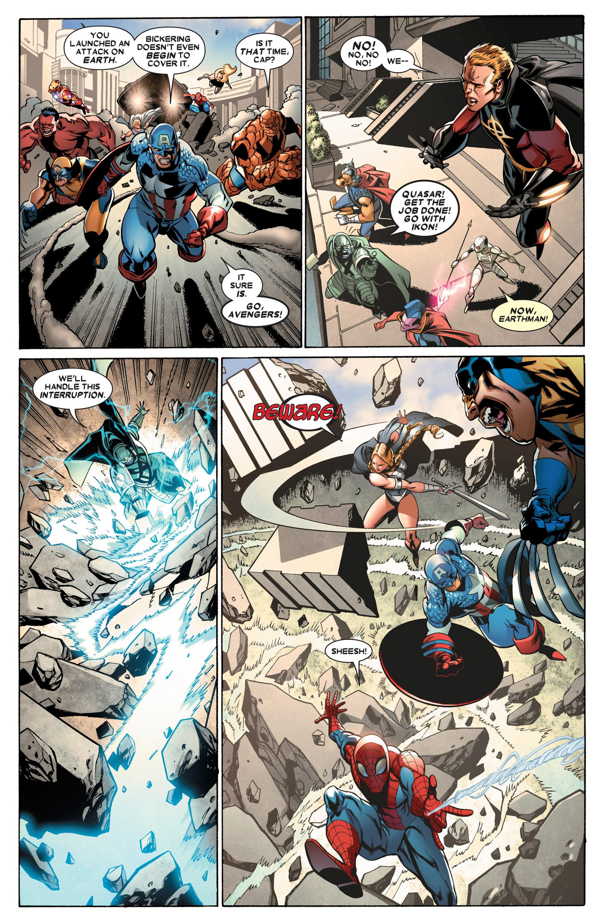 Read online Annihilators: Earthfall comic -  Issue #2 - 5