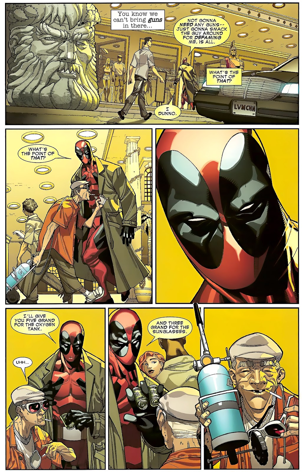 Read online Deadpool (2008) comic -  Issue #23 - 6