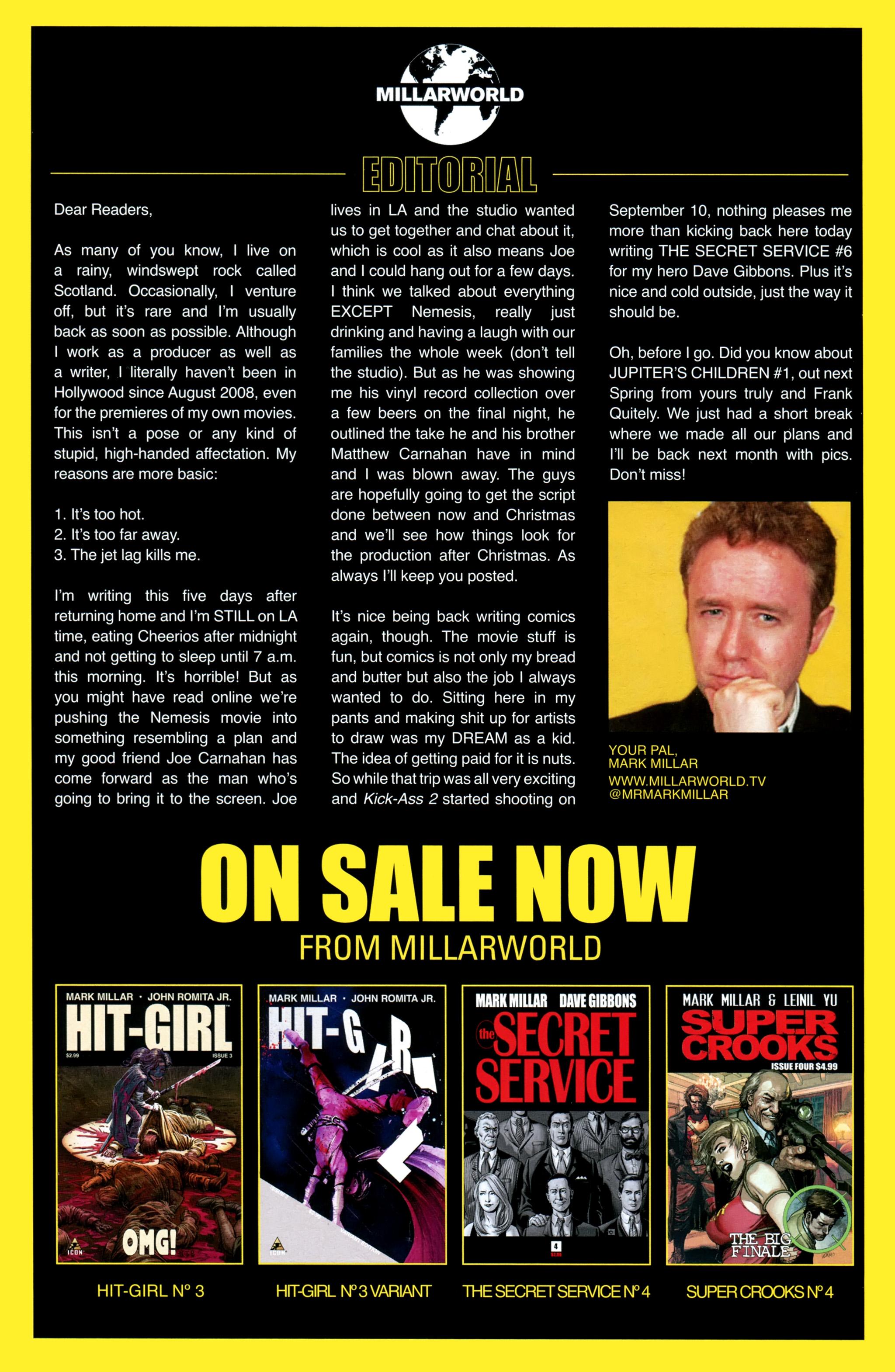 Read online Secret Service comic -  Issue #4 - 29