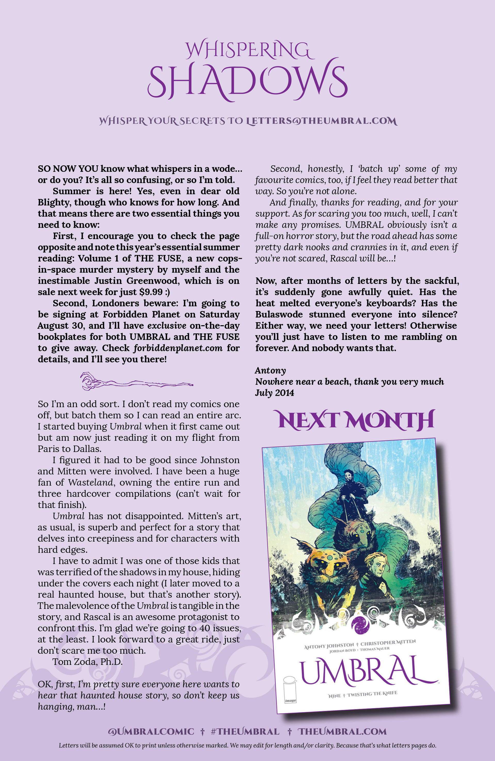 Read online Umbral comic -  Issue #8 - 26