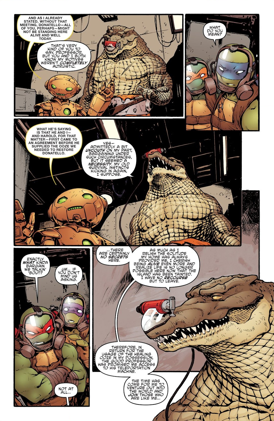 Read online Teenage Mutant Ninja Turtles: The IDW Collection comic -  Issue # TPB 7 (Part 2) - 35