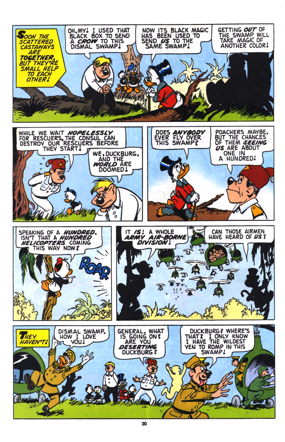 Read online Uncle Scrooge (1953) comic -  Issue #258 - 22