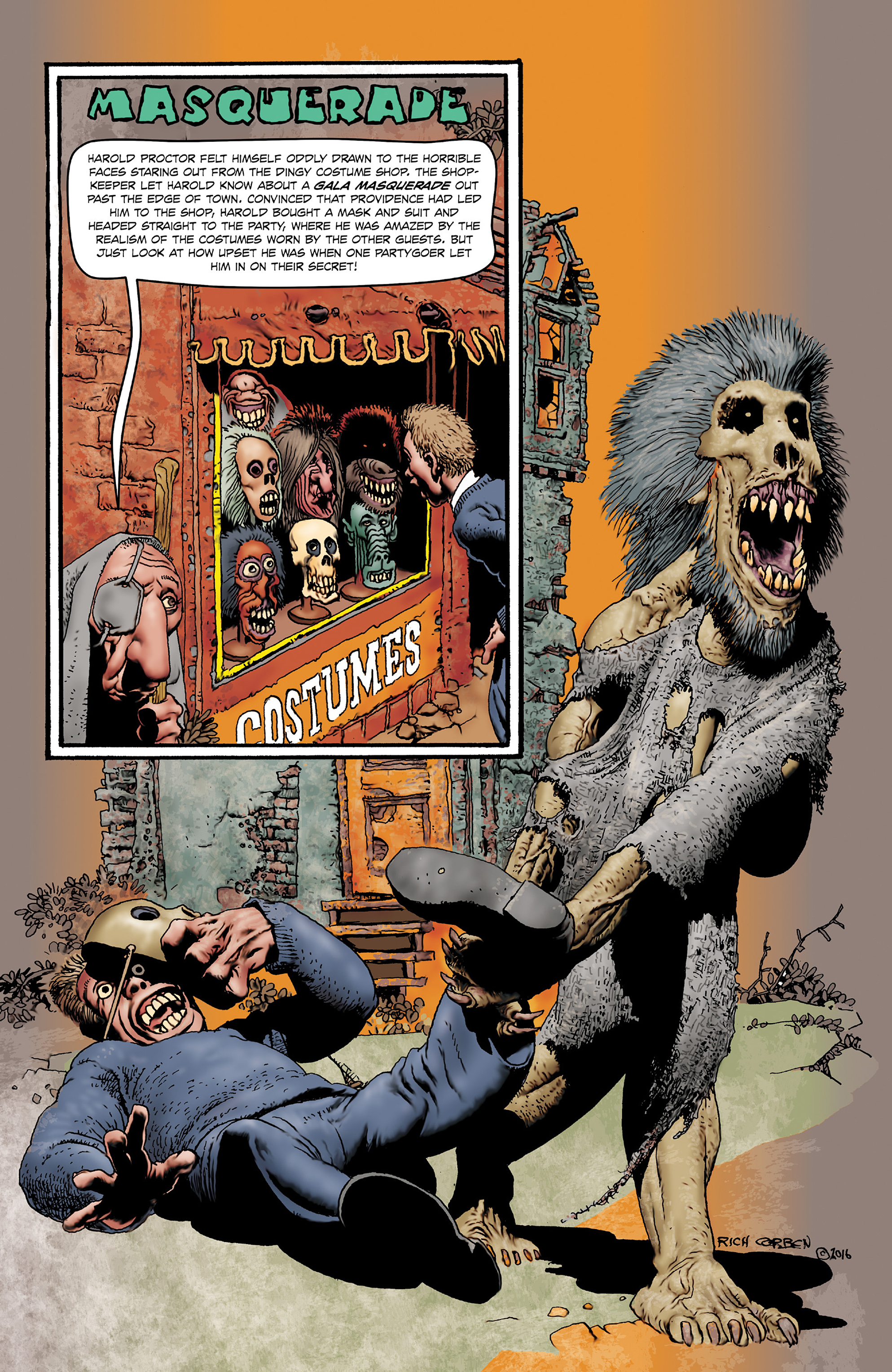 Read online Shadows on the Grave comic -  Issue #4 - 36