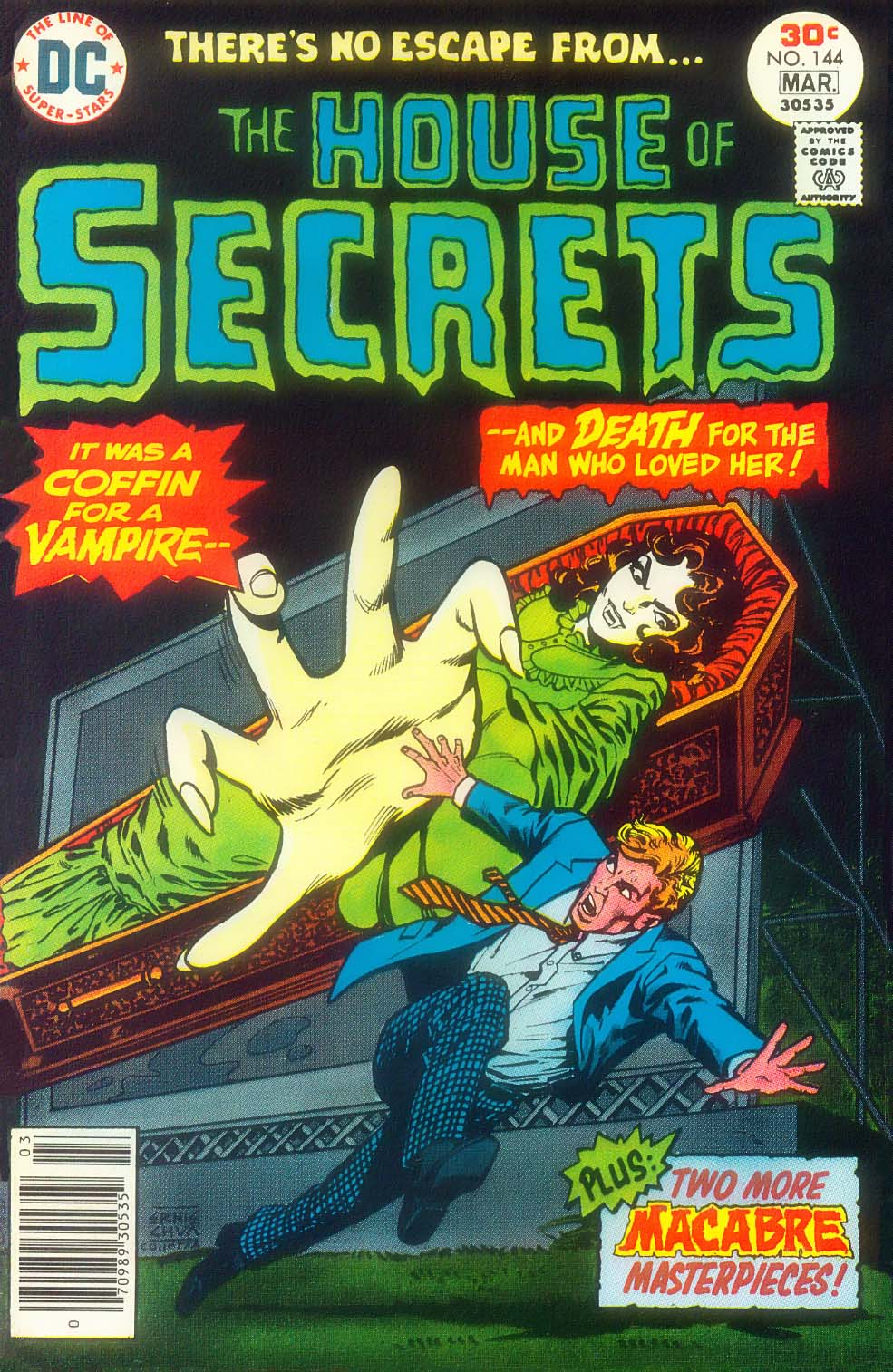 House of Secrets (1956) issue 144 - Page 1