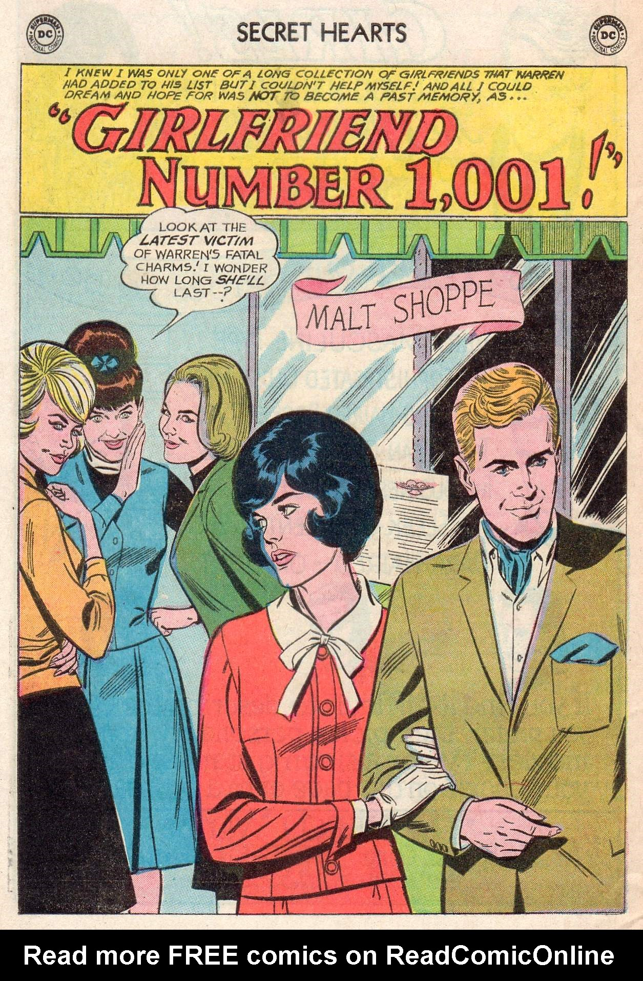 Read online Secret Hearts comic -  Issue #107 - 28