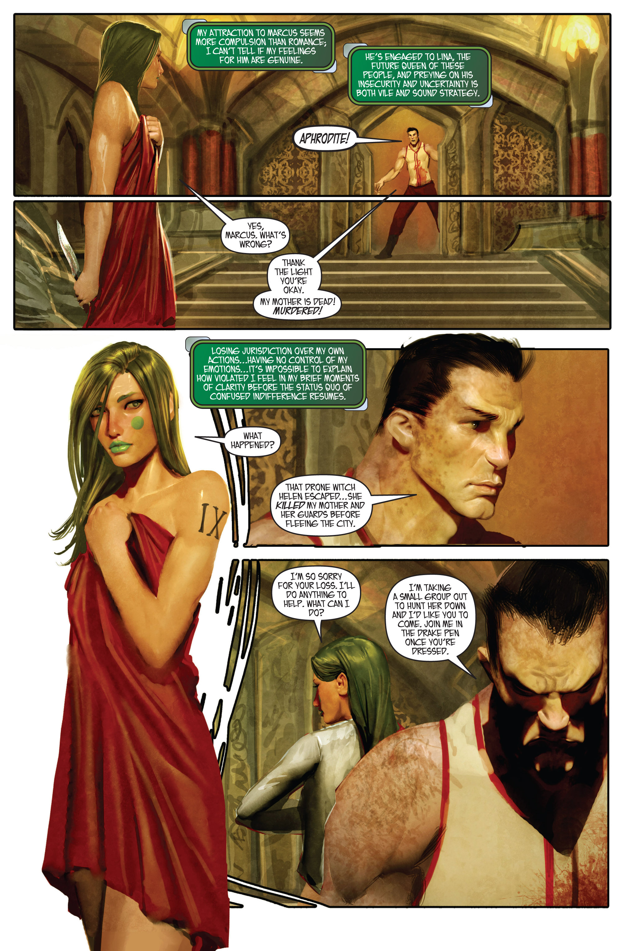 Read online Aphrodite IX (2013) comic -  Issue #Aphrodite IX (2013) _TPB 1 - 49