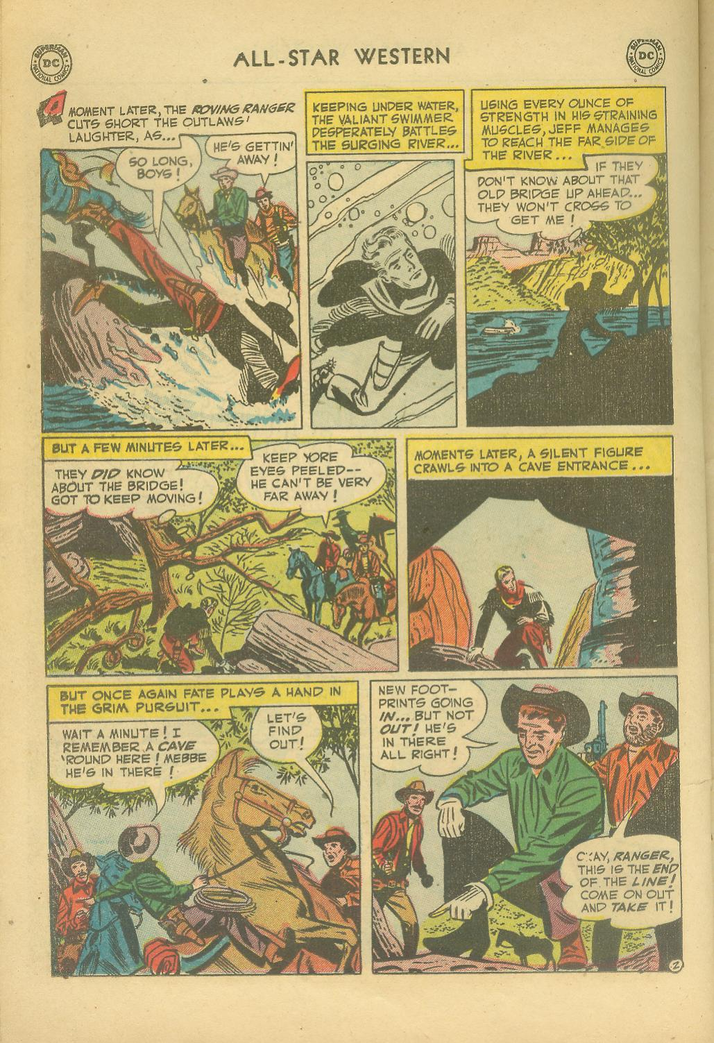 Read online All-Star Western (1951) comic -  Issue #65 - 22